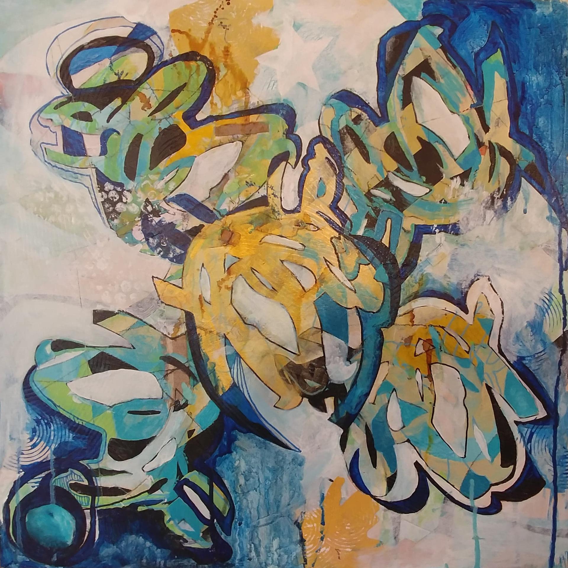 Urban Graffiti by Benita Cole (McMinnville, OR)