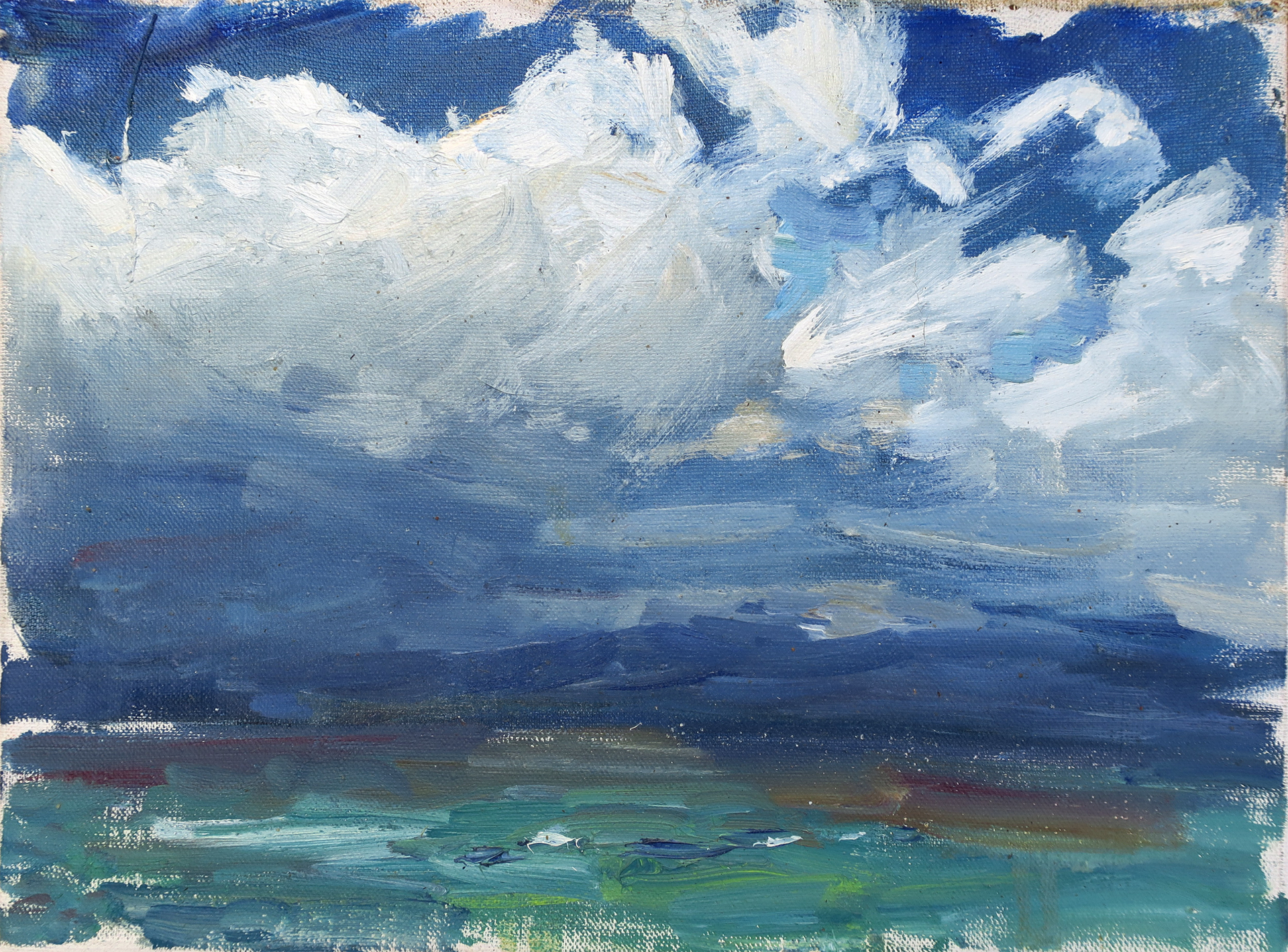 Before a Thunderstorm (Lake Baikal) by Ulrich Gleiter