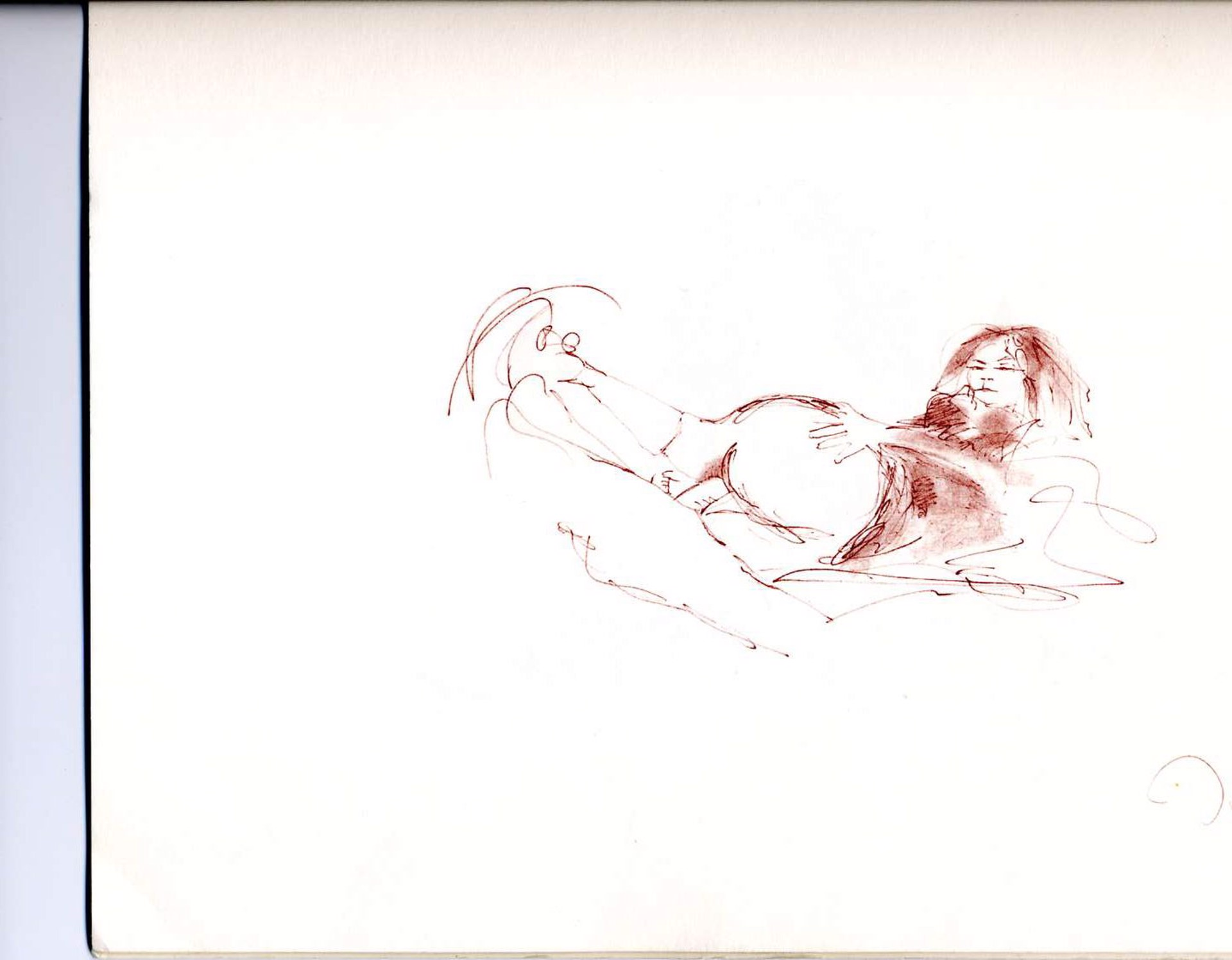"""Erotic #3"" From The ""Bag One"" Portfolio by John Lennon"