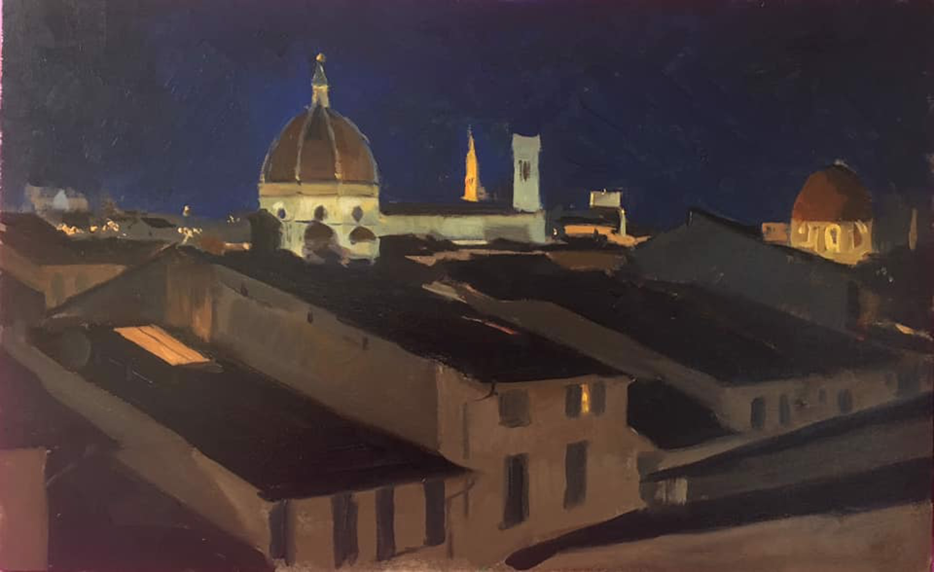 Nocturne of Florence by Tanvi Pathare