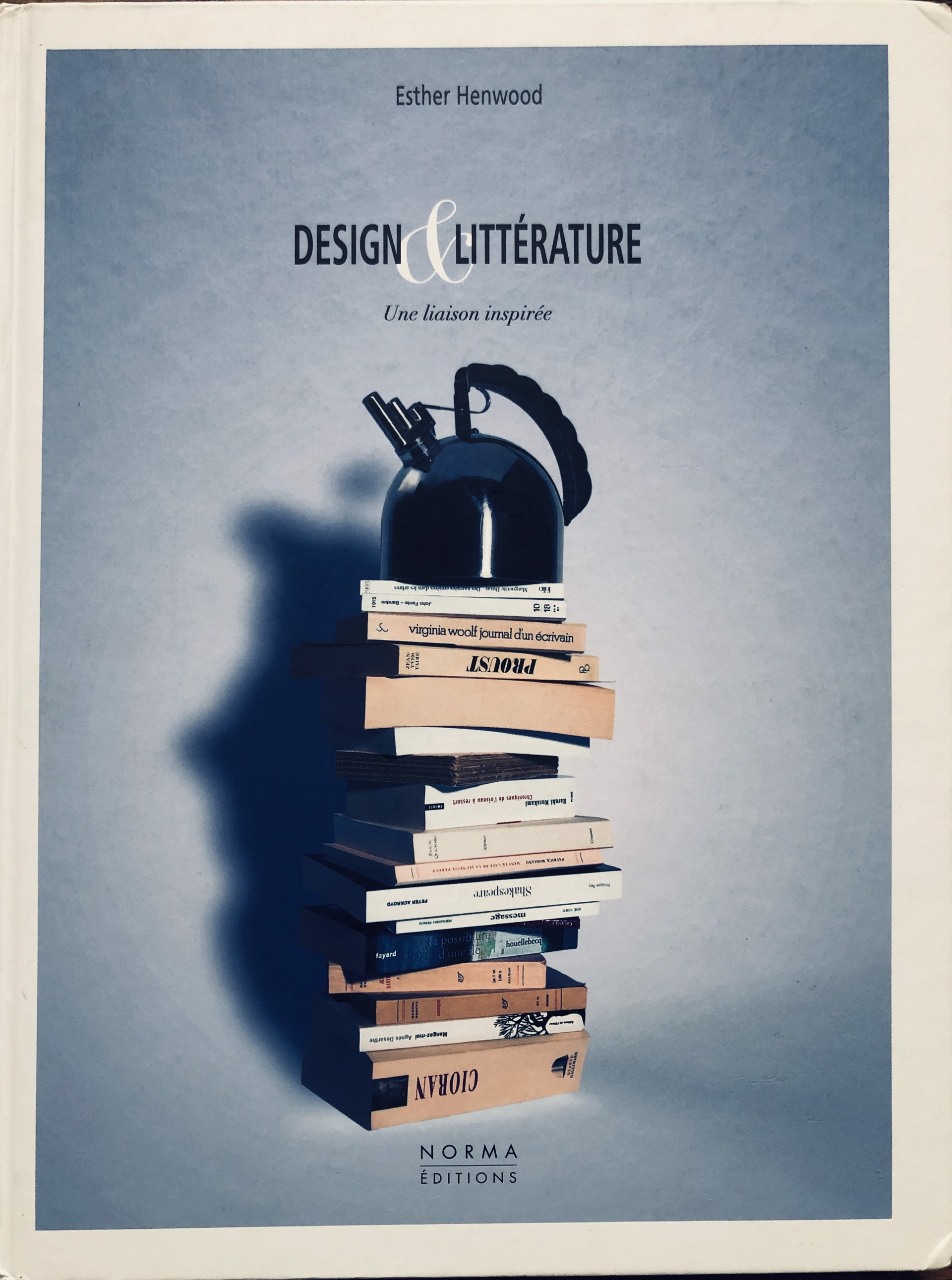 Jacques Jarrige, Design & Litterature by Esther Henwood