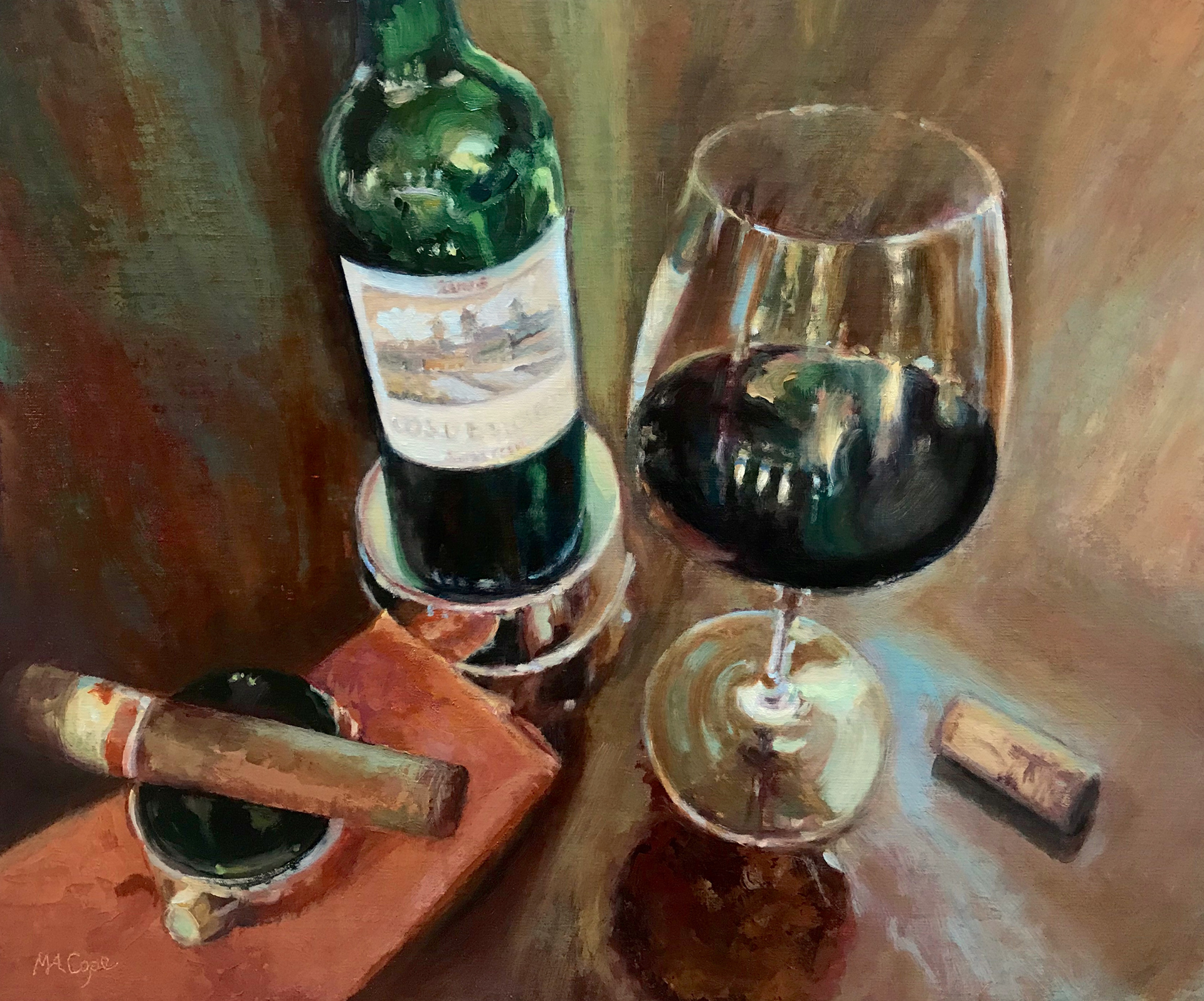 Wine Pairing by Mary Ann Cope