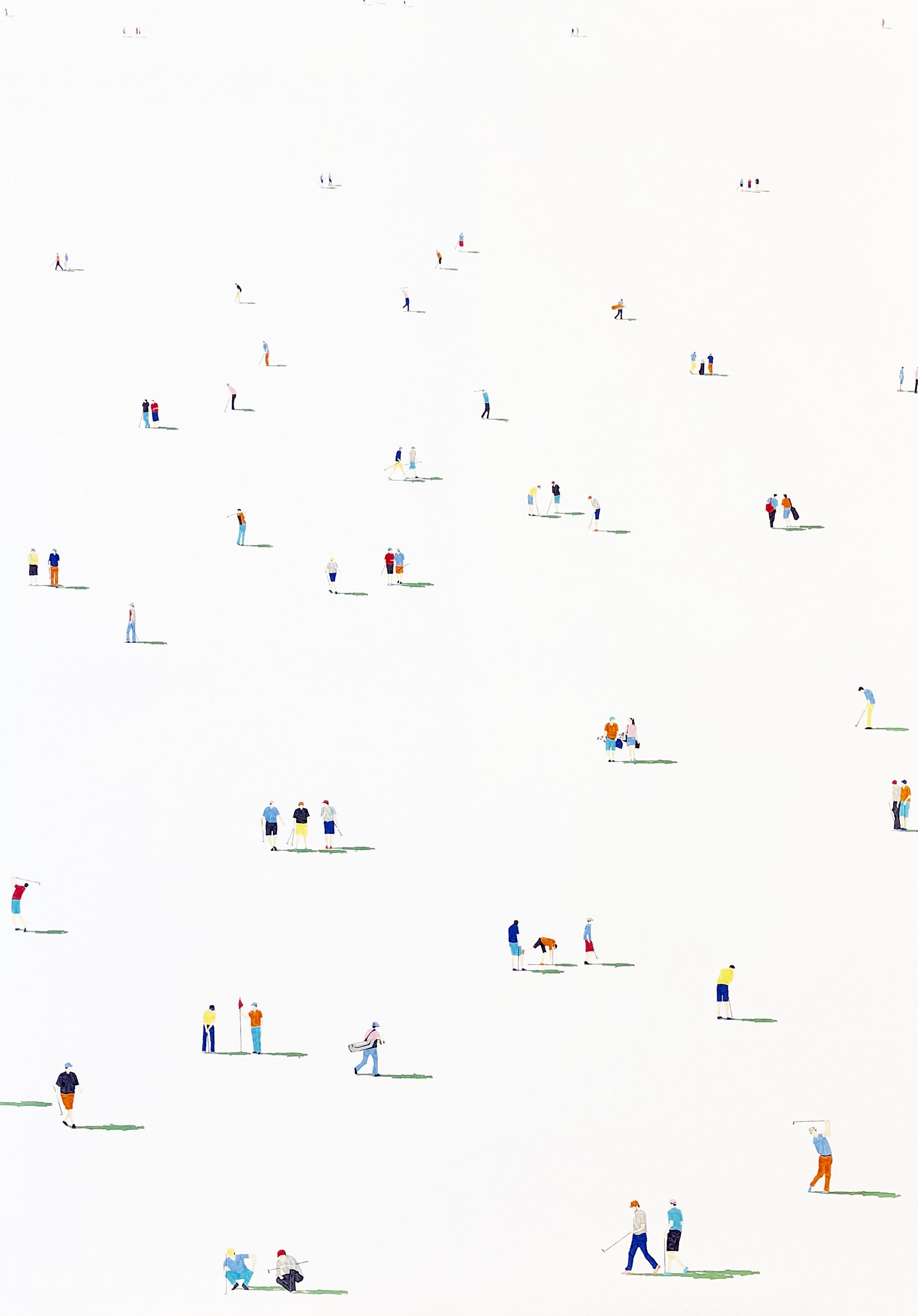 Golfers 06 by Stephanie Ho