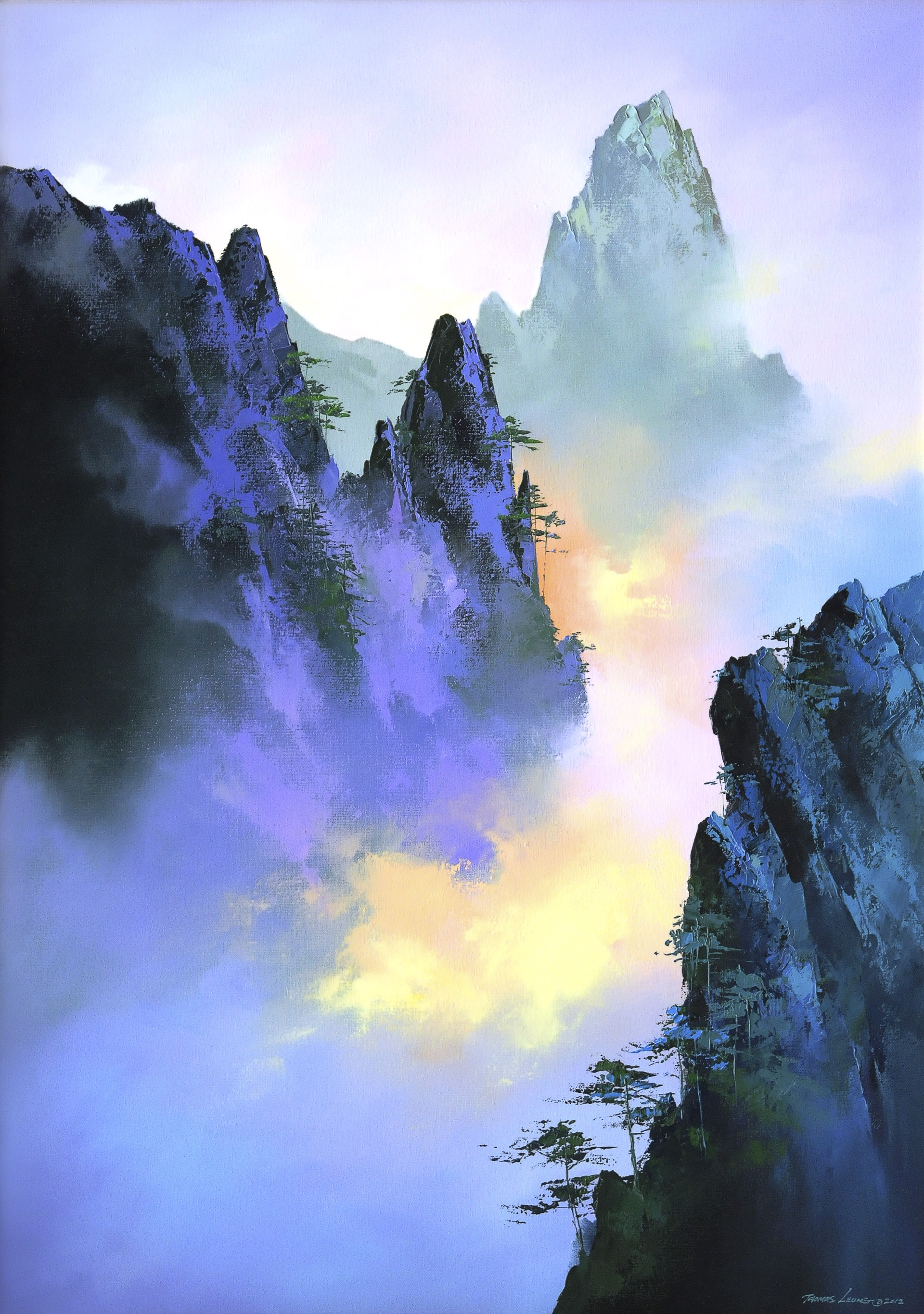 Sea Of Clouds by Thomas Leung