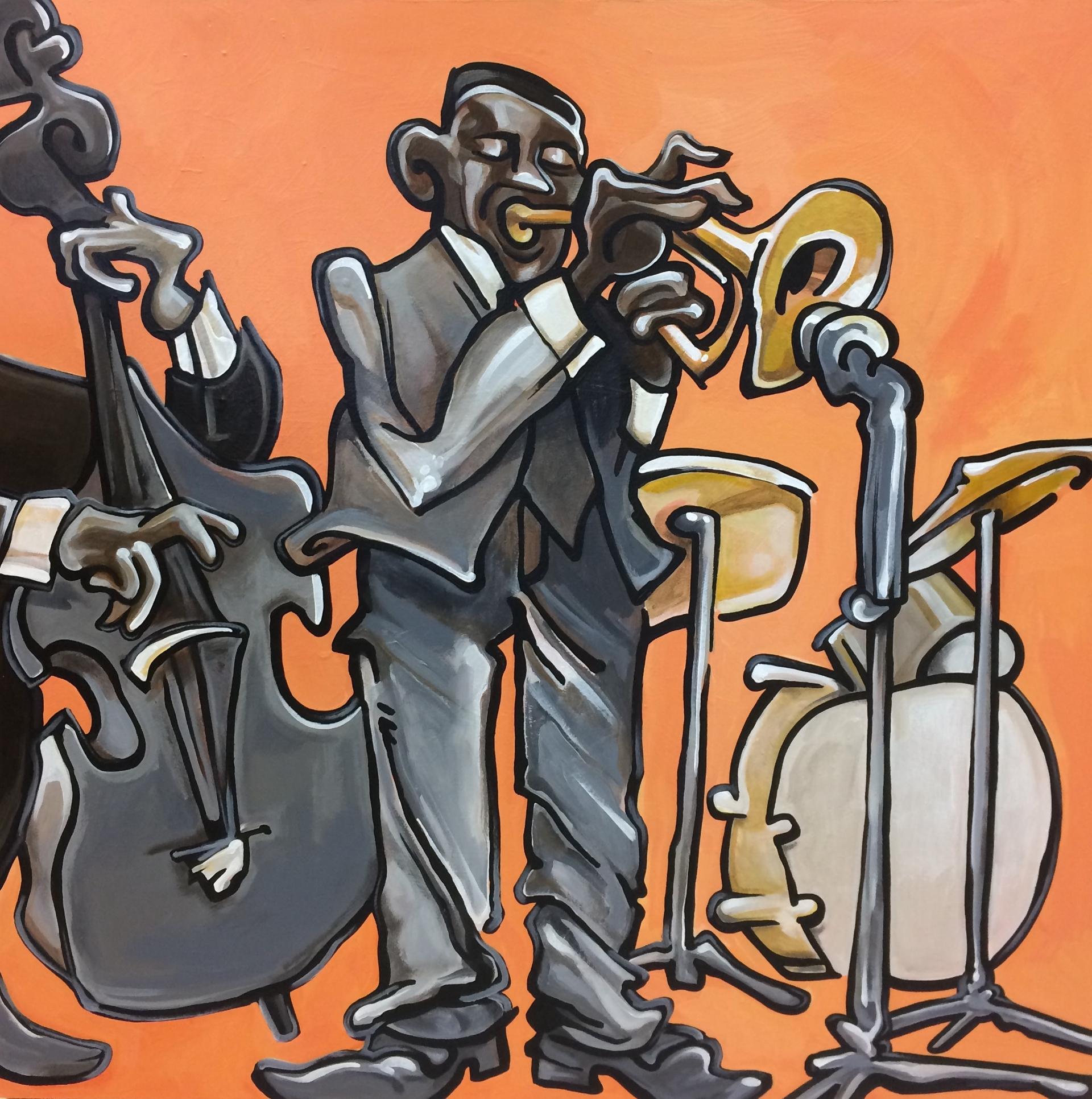 Miles Davis Quintet by Nate Pack