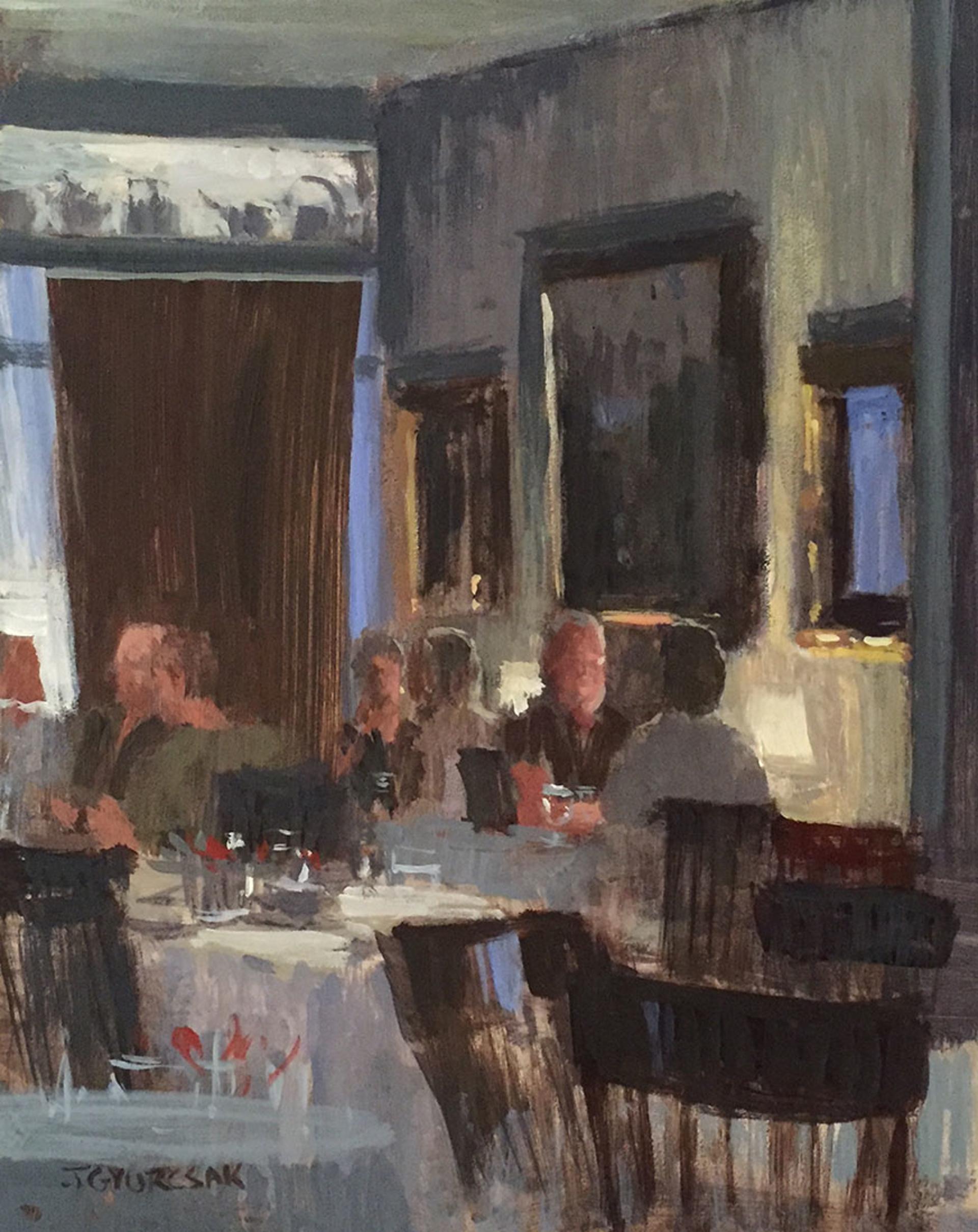 Evening Conversation by Joe Gyurcsak
