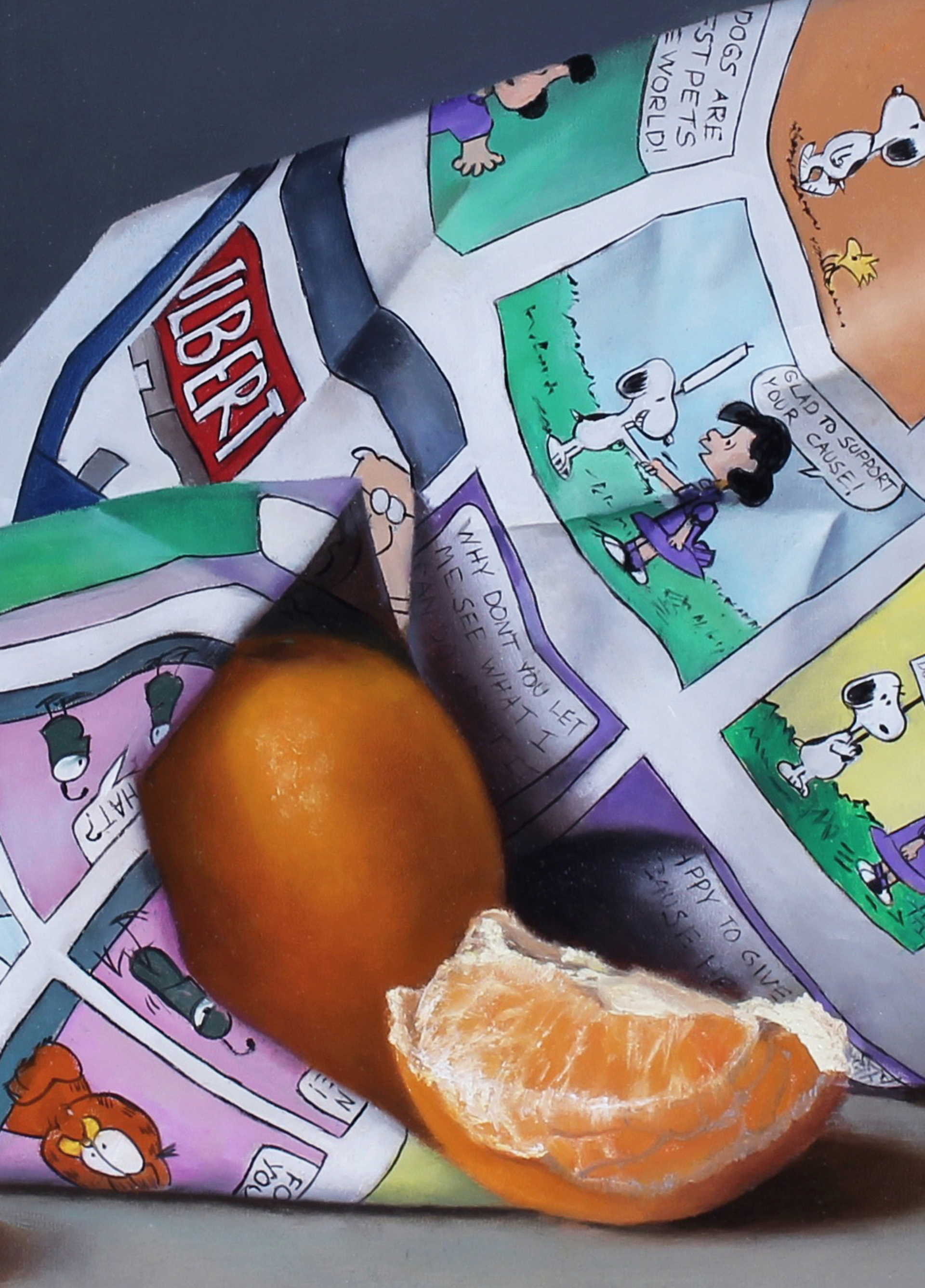 Clementines and Comics by Kelly Birkenruth