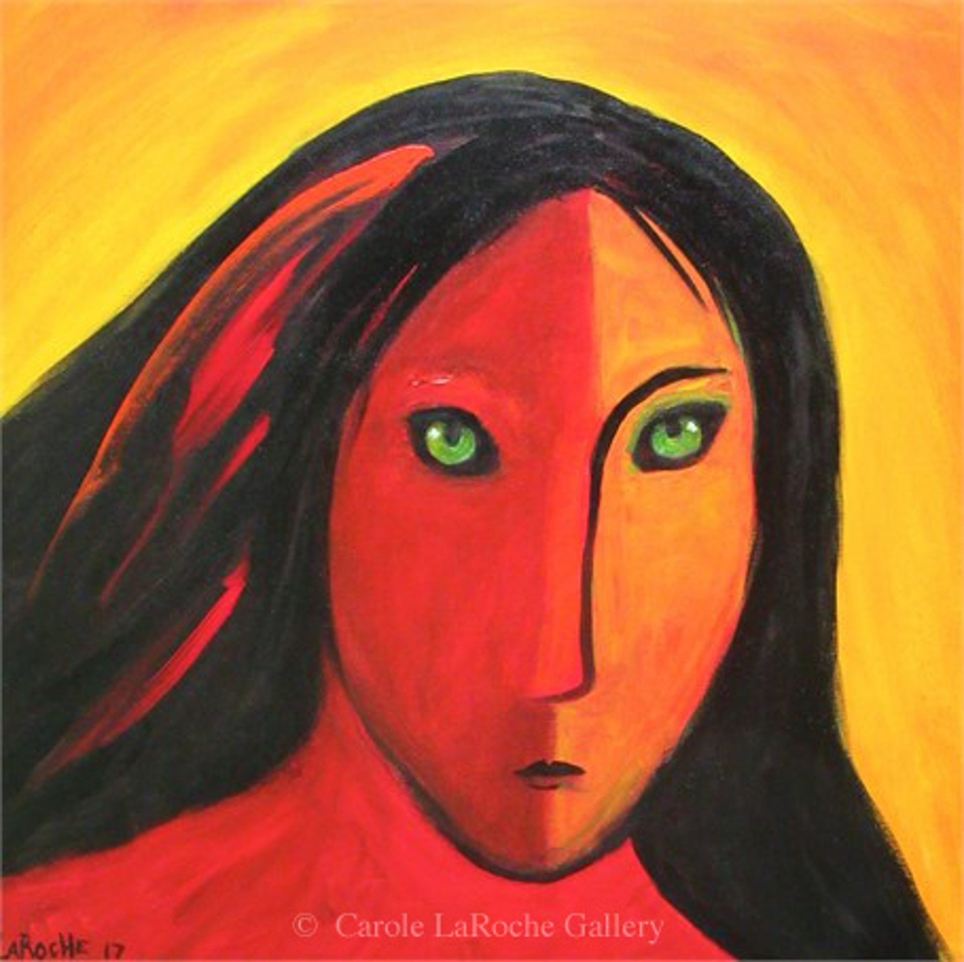RED WARRIOR by Carole LaRoche