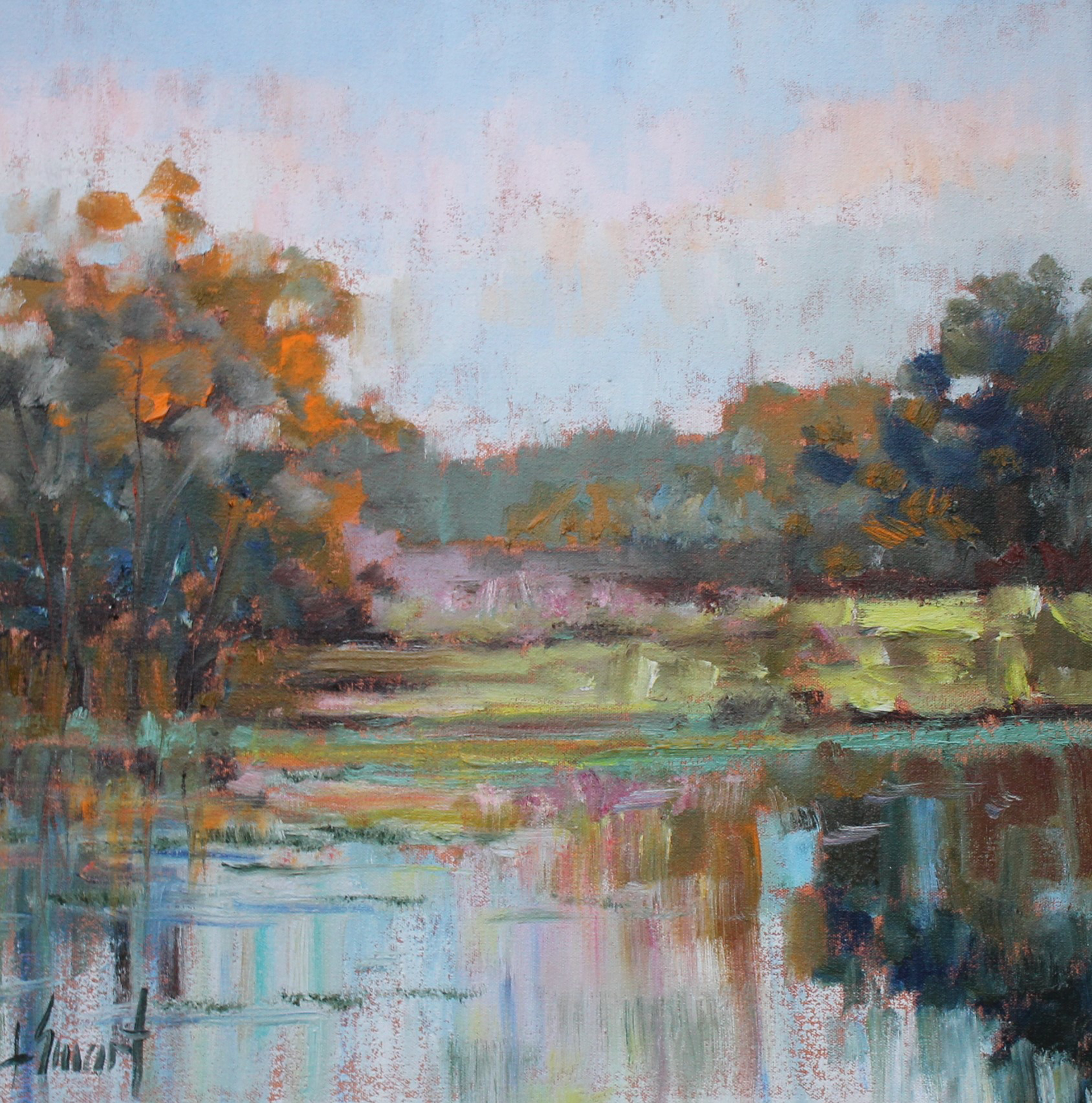 Afternoon Reflections by Libby Smart