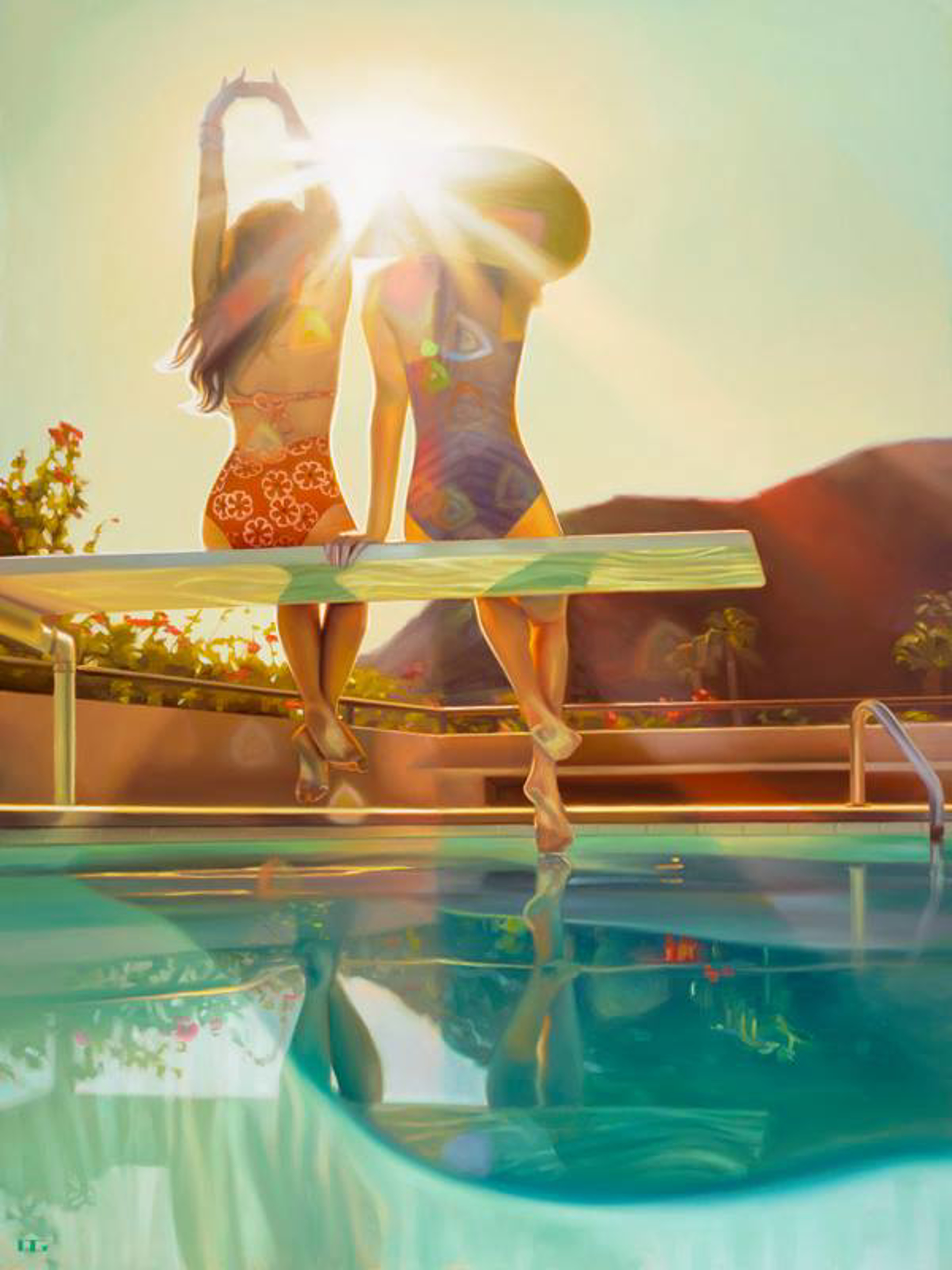 Sun Worshippers (S/N) by Carrie Graber