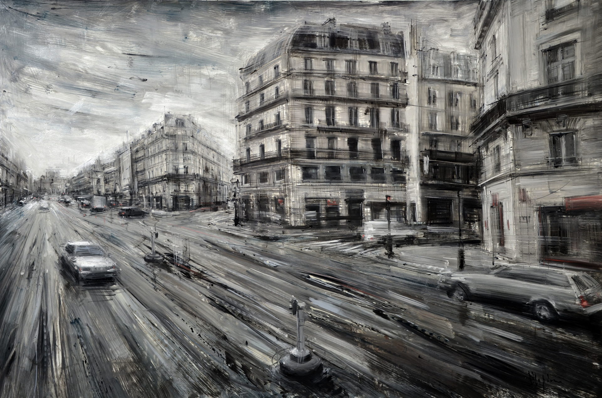 Avenue de l'Opera by Valerio D'Ospina