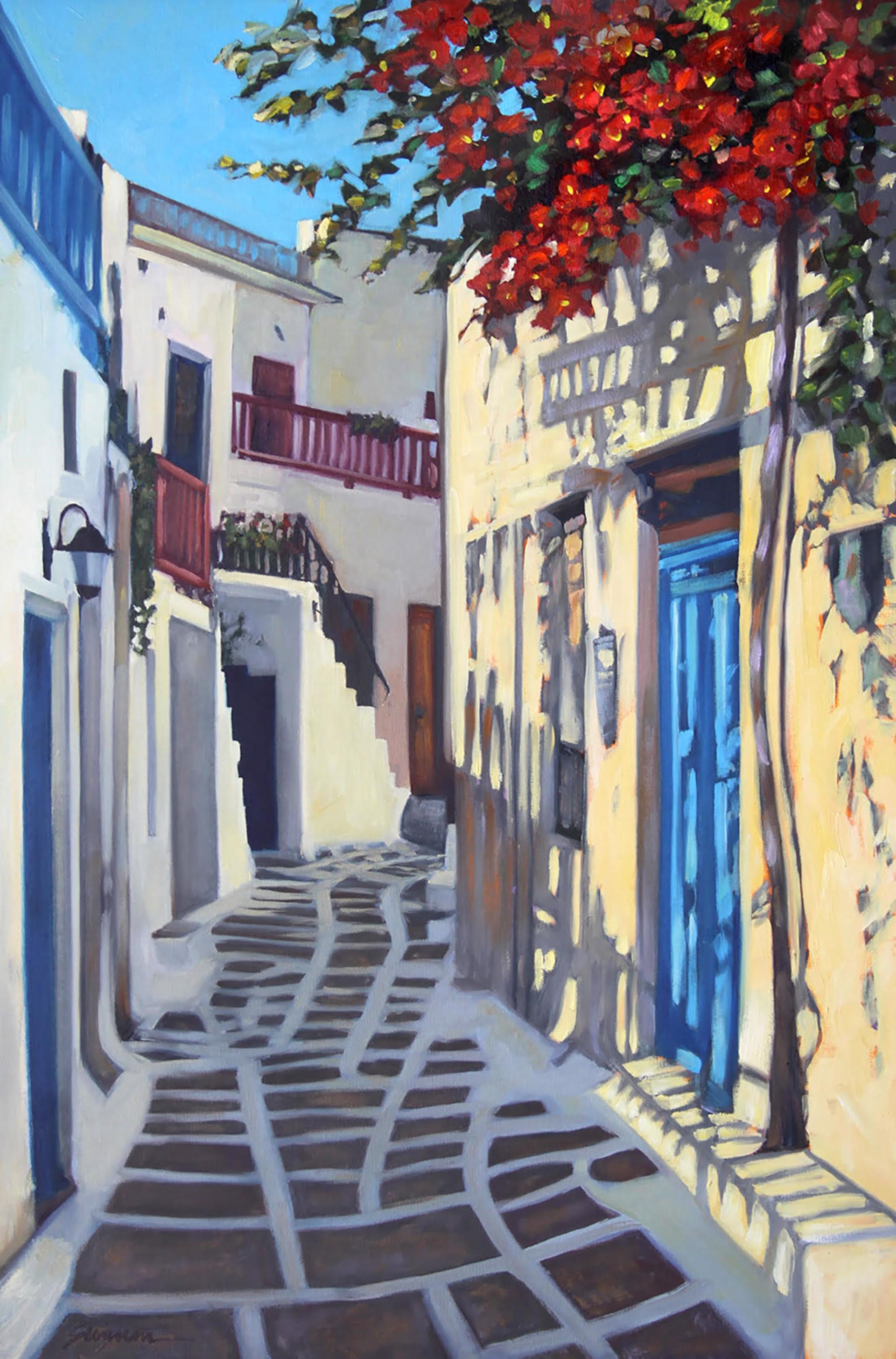 Morning In Paros by Tom Swimm