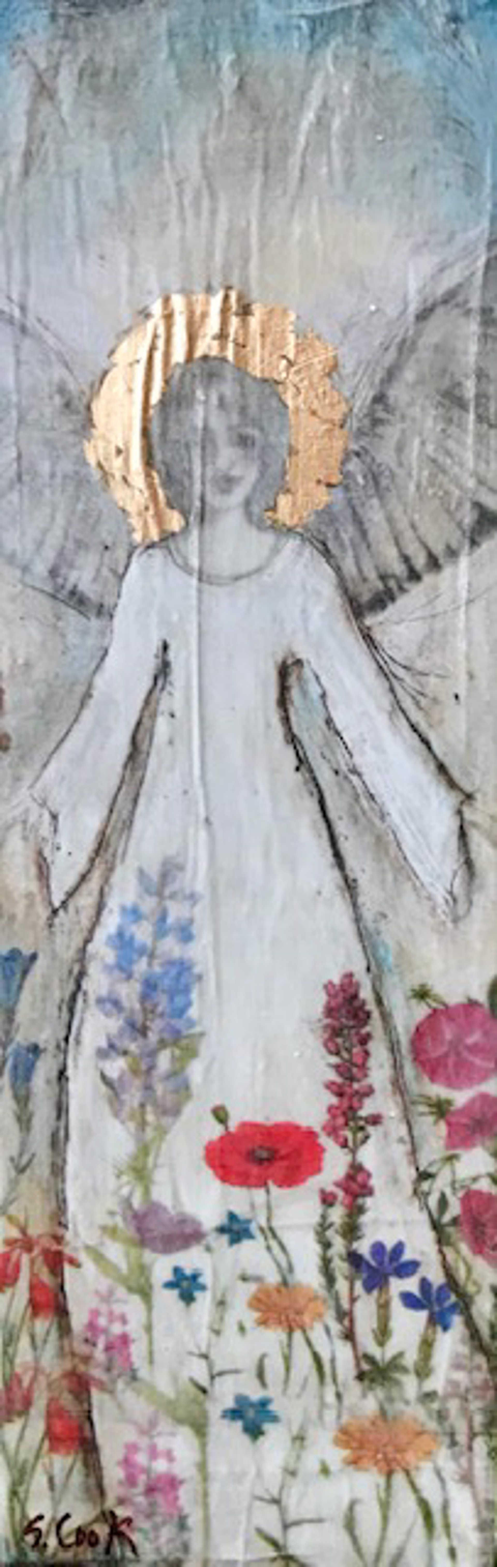 Garden Angel by Sherry Cook