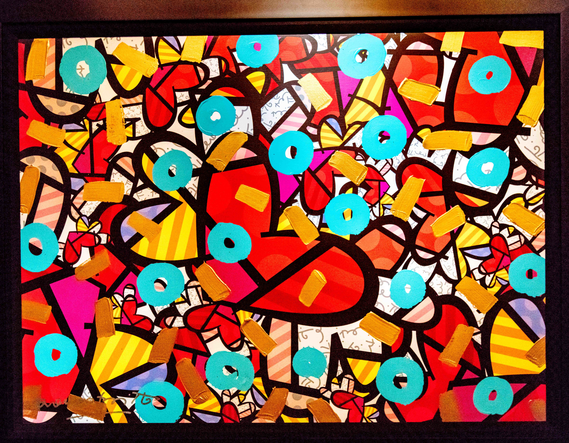 PARTY TIME by Romero Britto