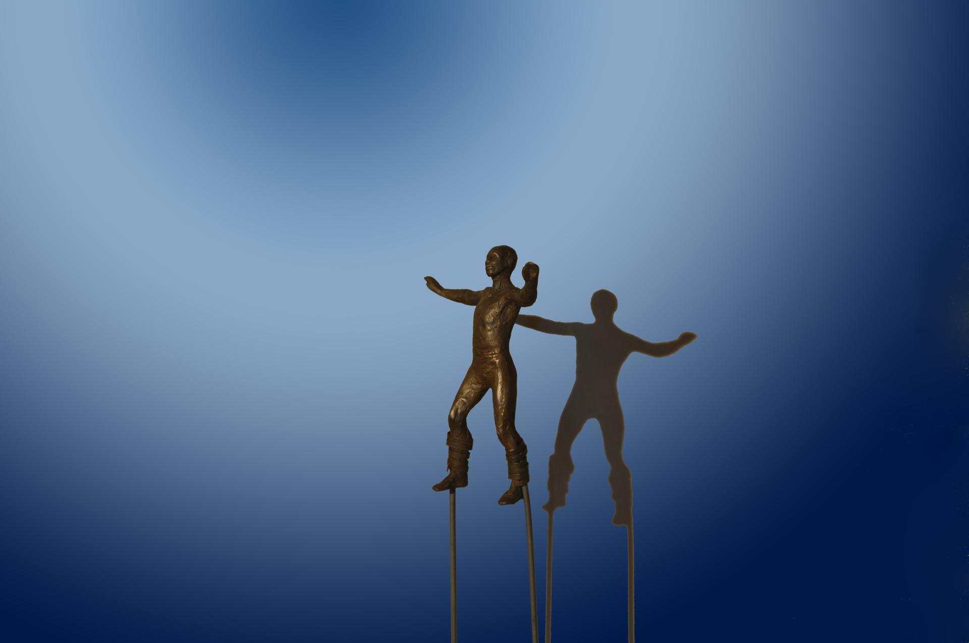 Balance Series: Stiltwalker by Bill Starke