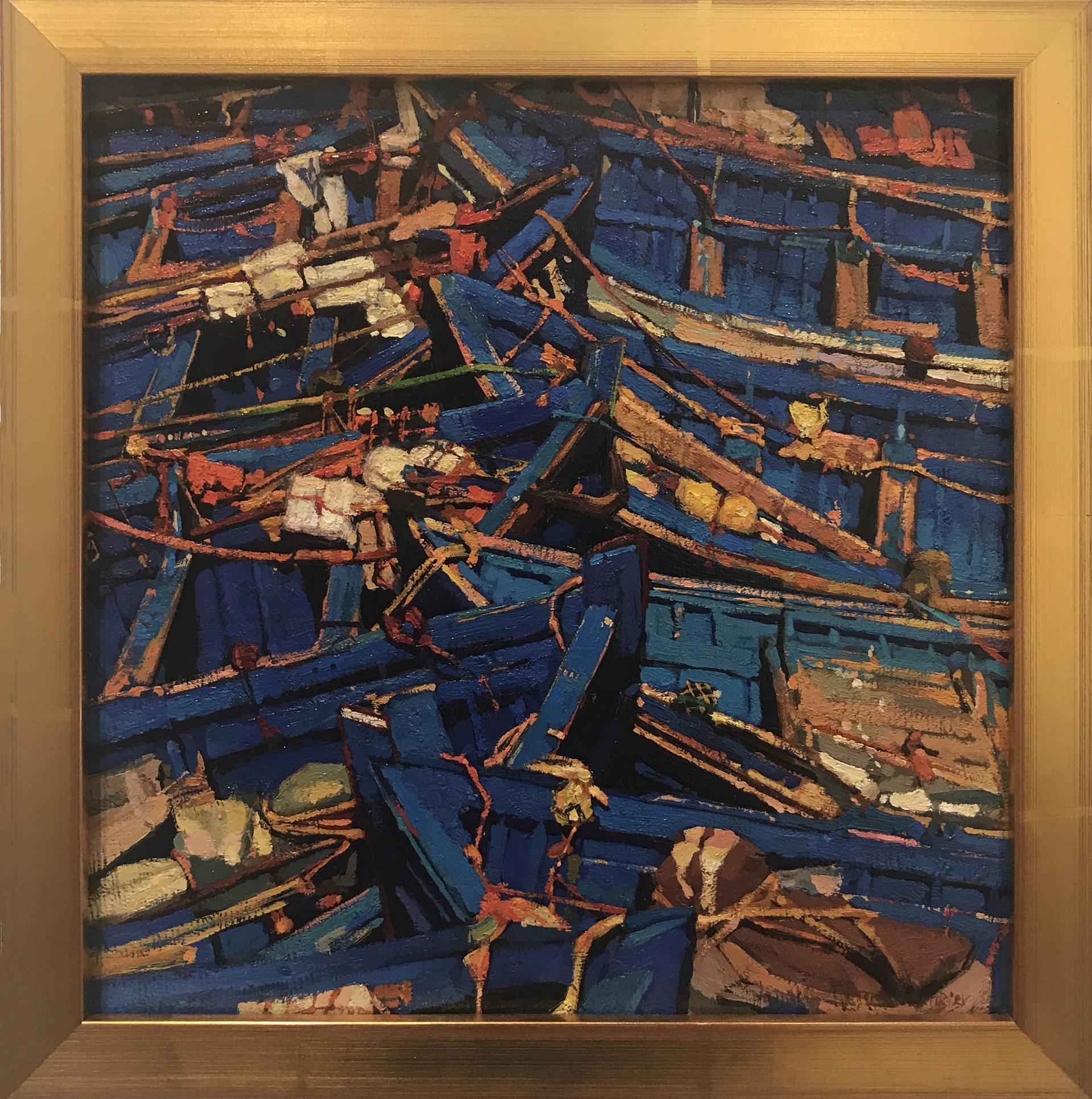 Blue Number 5 by Timur Akhriev