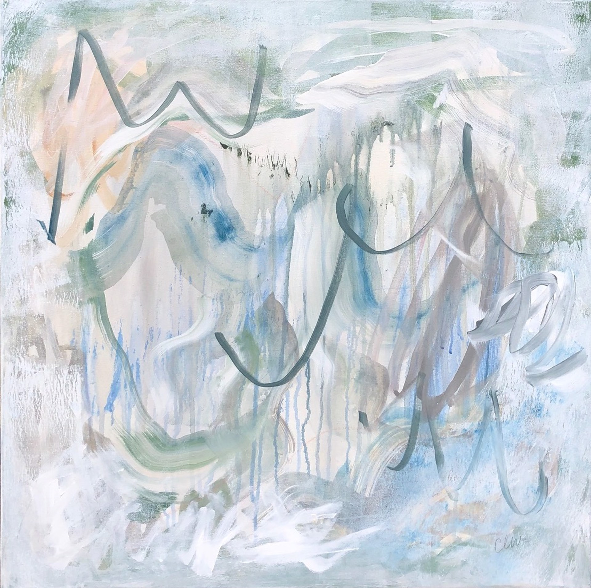 Waves V by Catherine Whitis