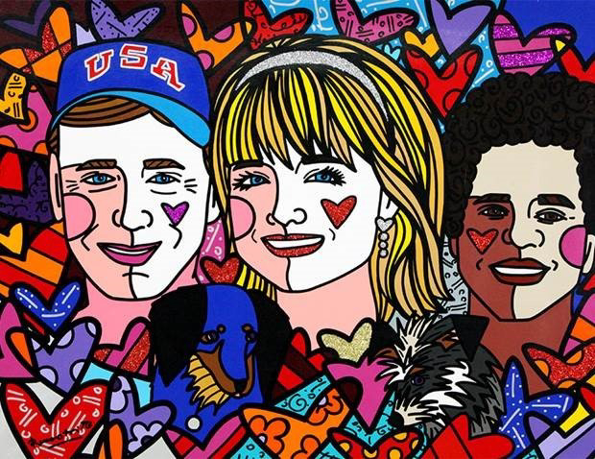 Commissions Available by Romero Britto