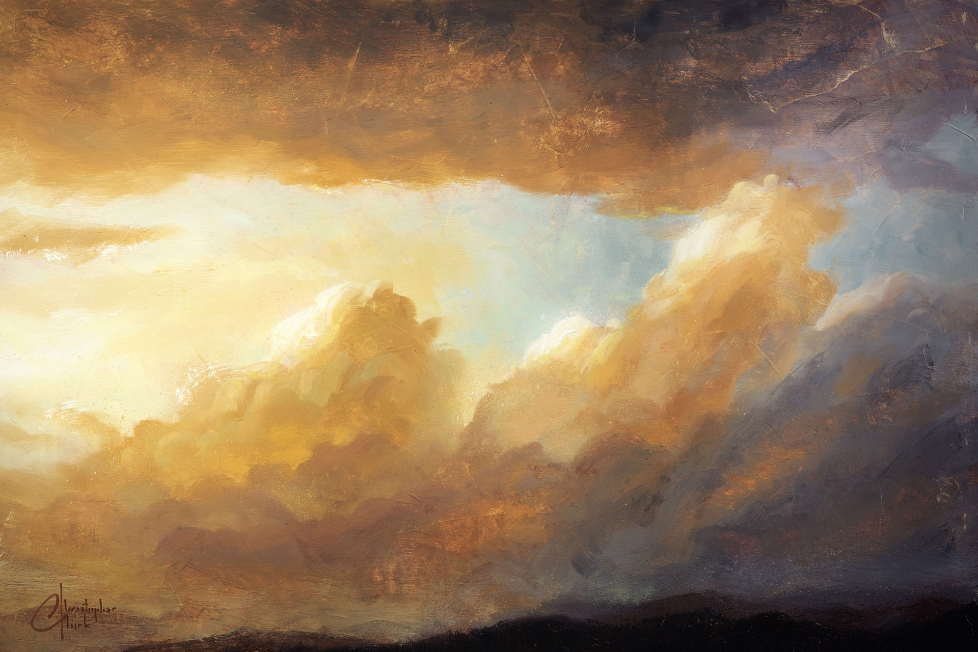 Cloudscape I by Christopher Clark
