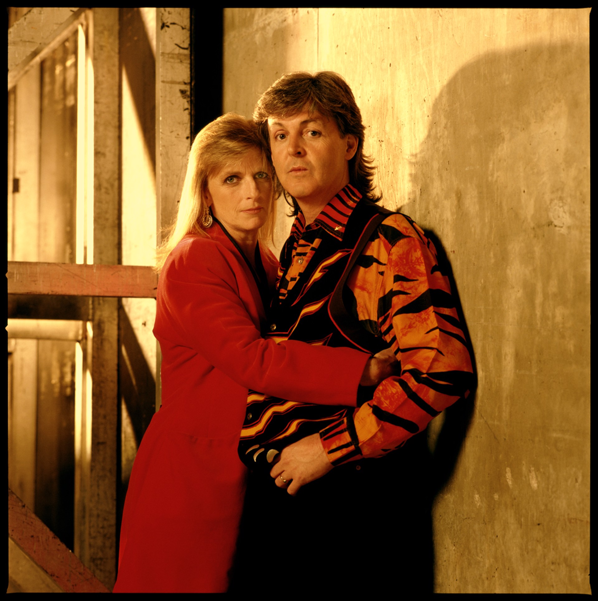 89194 Paul McCartney Paul and Linda Color by Timothy White