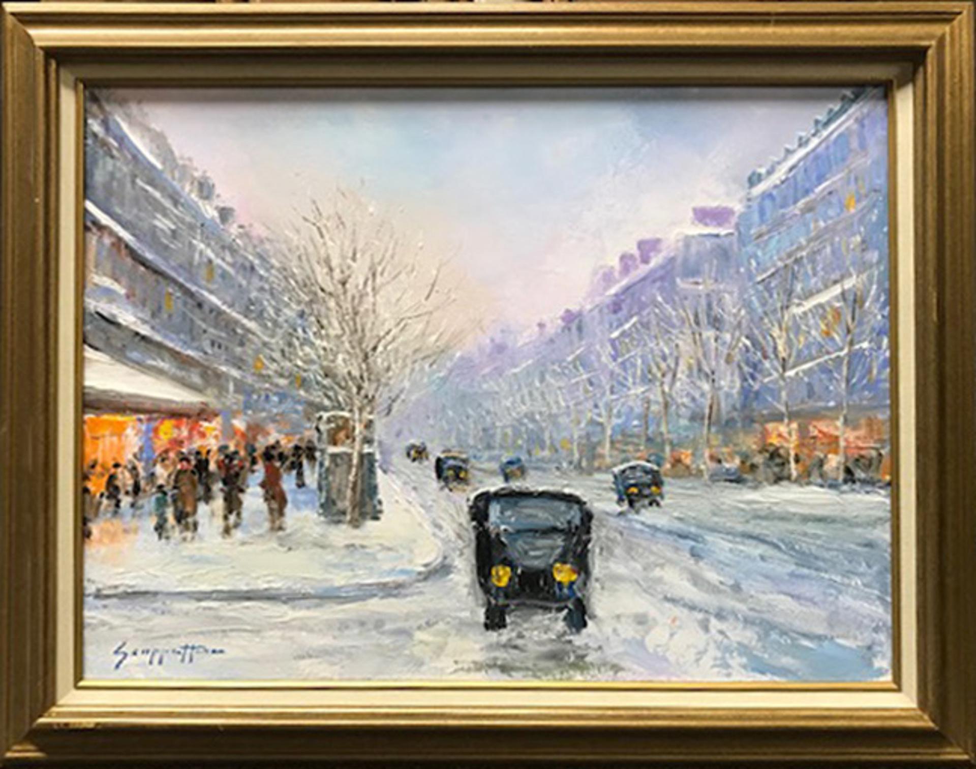 Boulevard Des Capucines, Paris by James Scoppettone