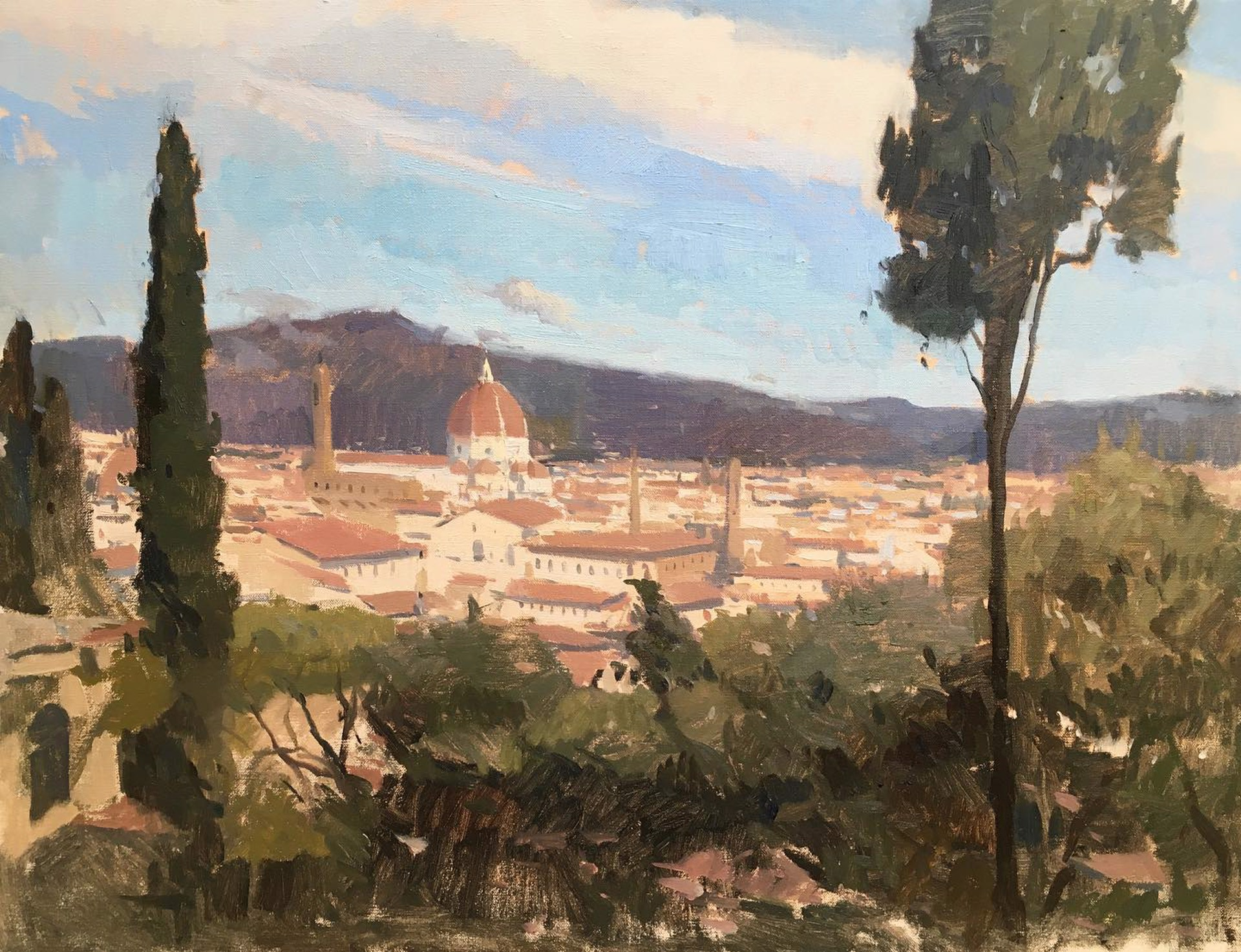 Florence Mornings by Tanvi Pathare