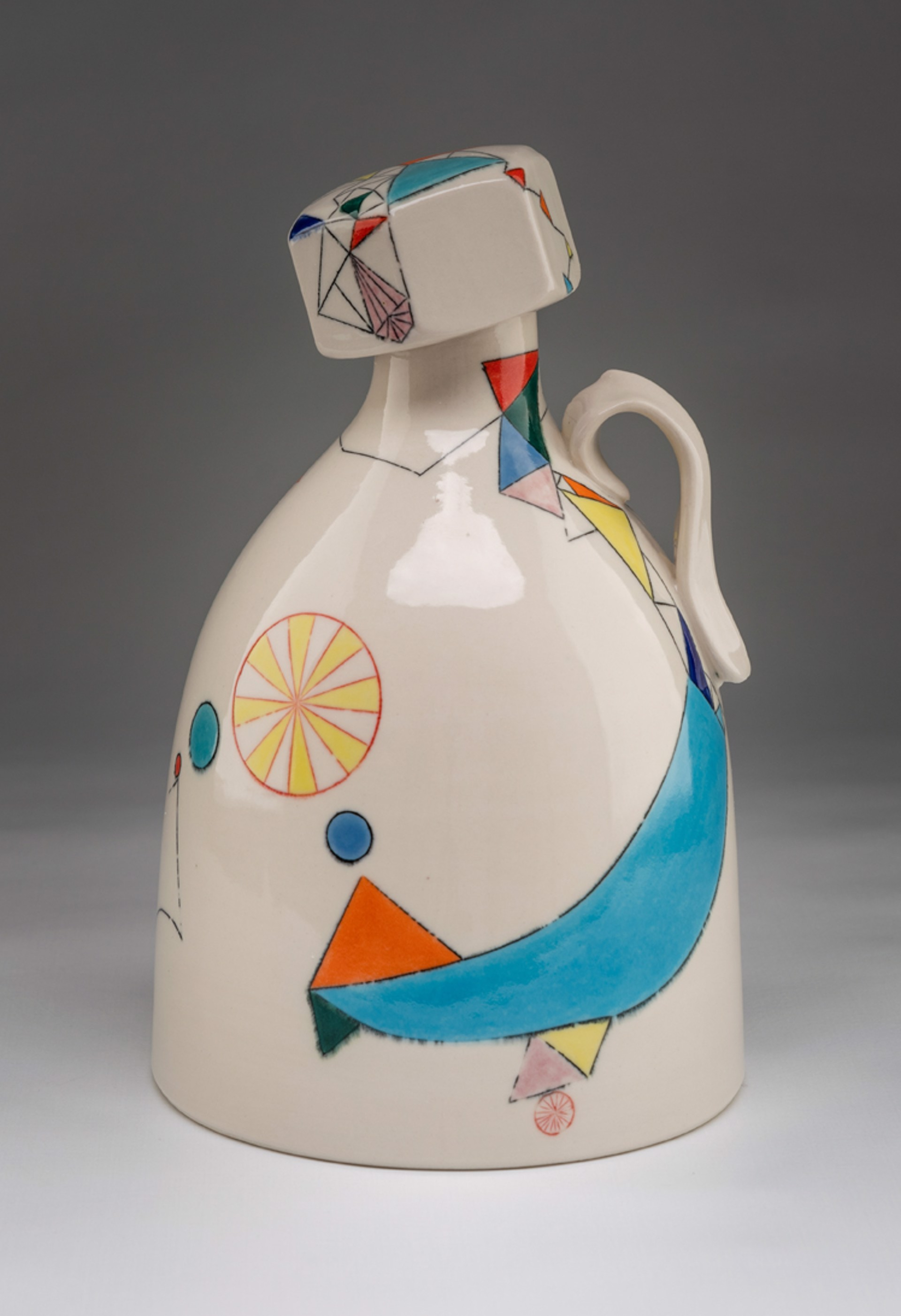 Growler with Screw-Top Lid by Aubrey Purdy Rude Mat Rude