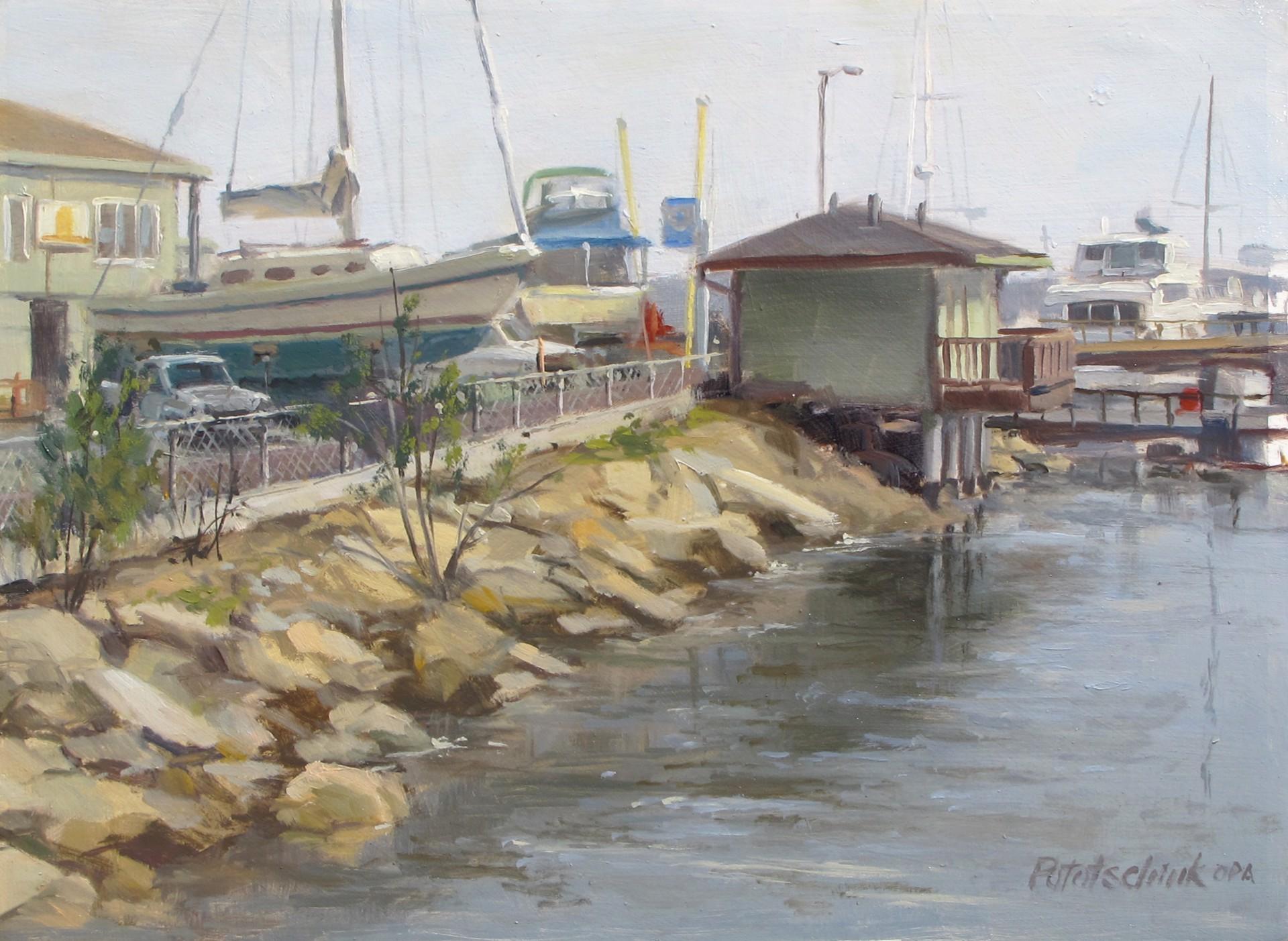 On the Dock of the Bay by John Pototschnik