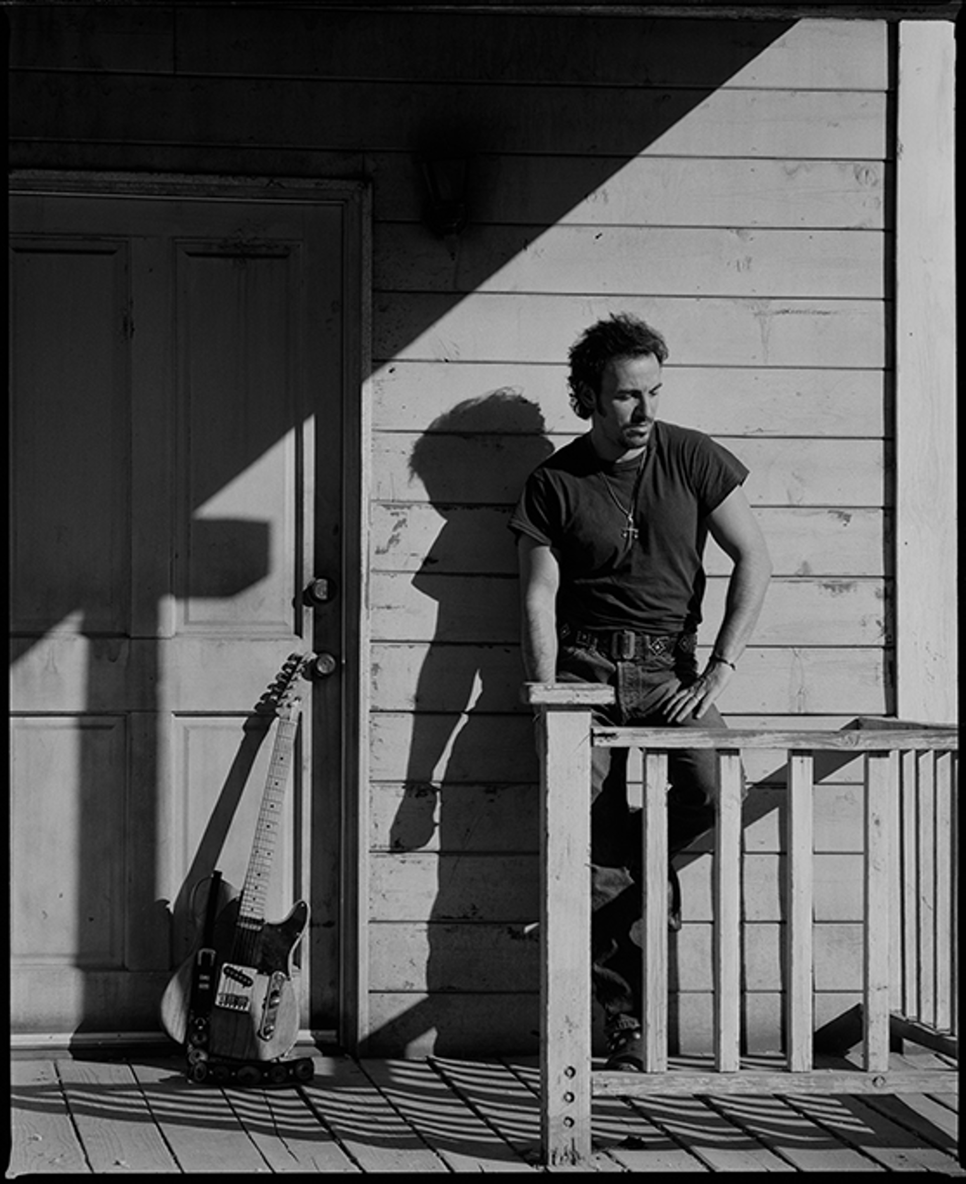 91152 Bruce Springsteen Against the House F8 BW by Timothy White