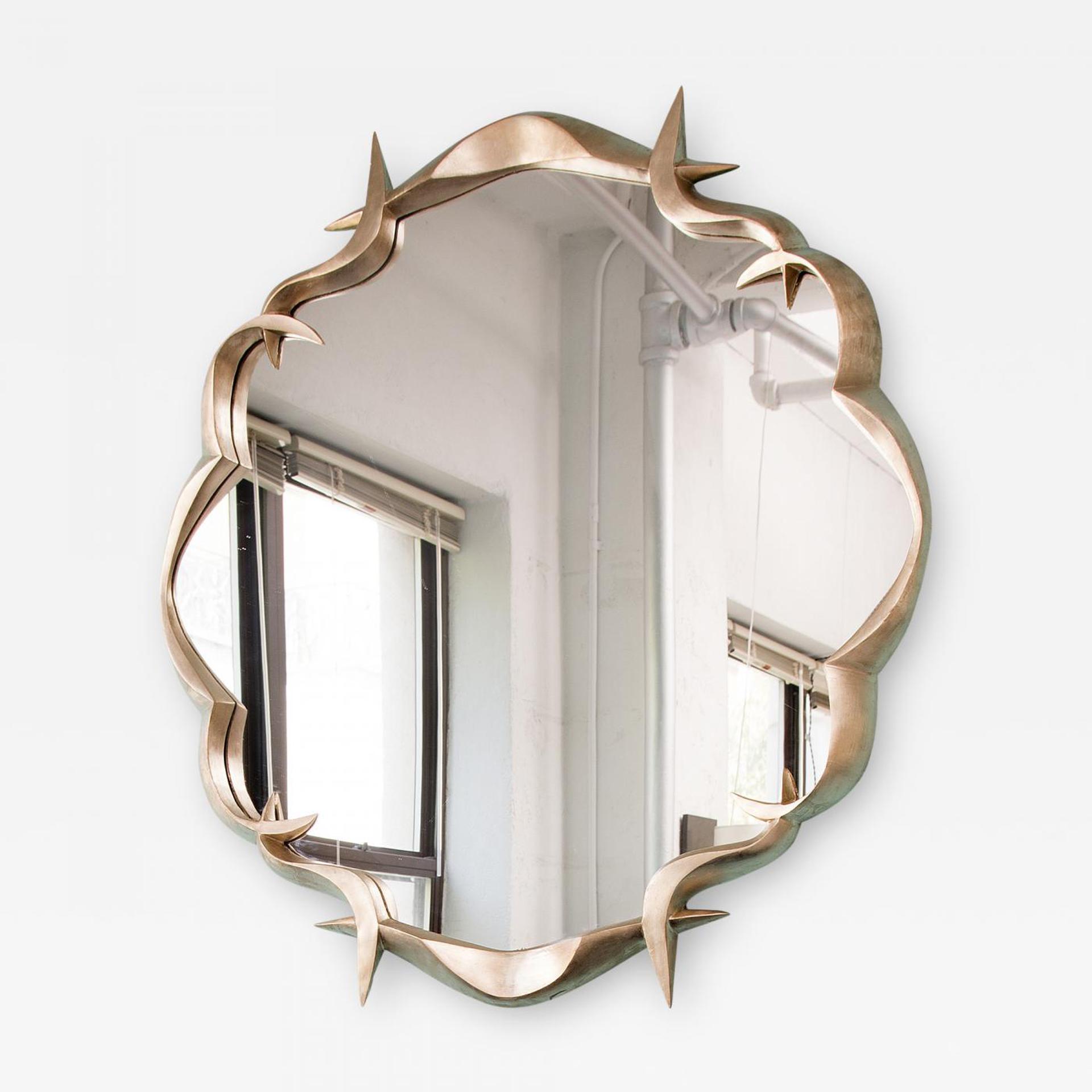 Round Mirror by Anasthasia Millot