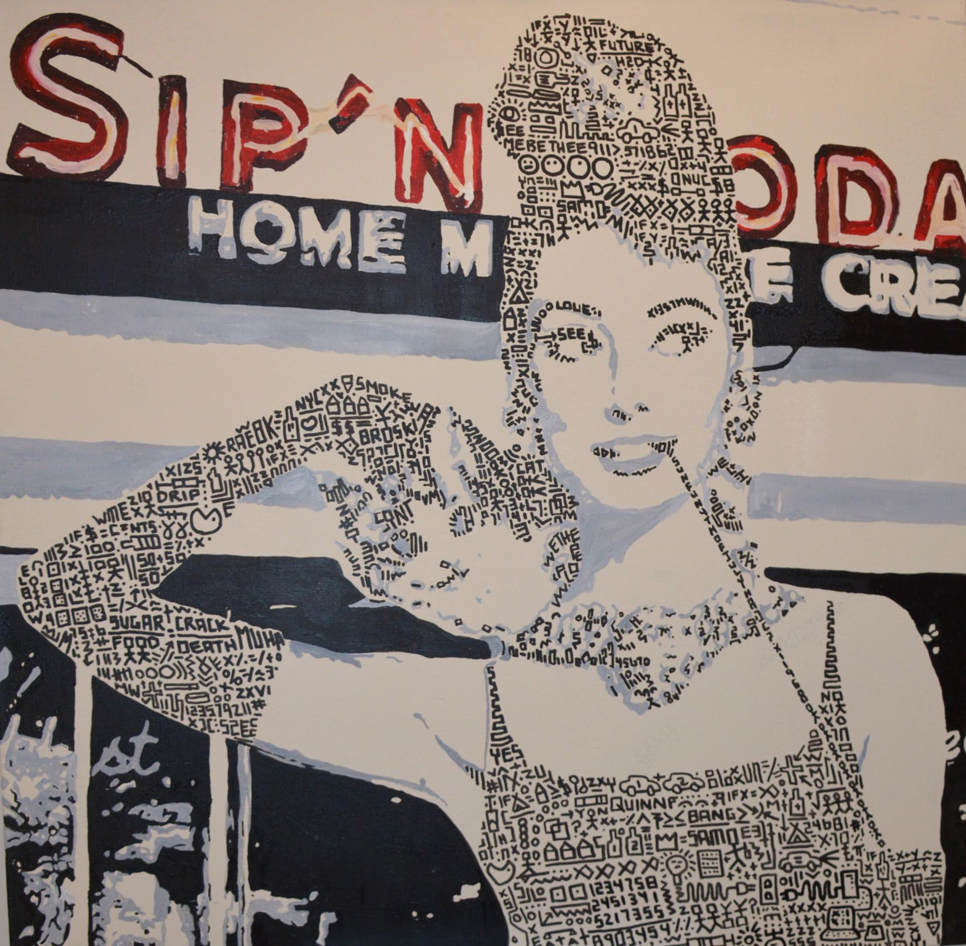 Audrey at Sips by Jason Poremba