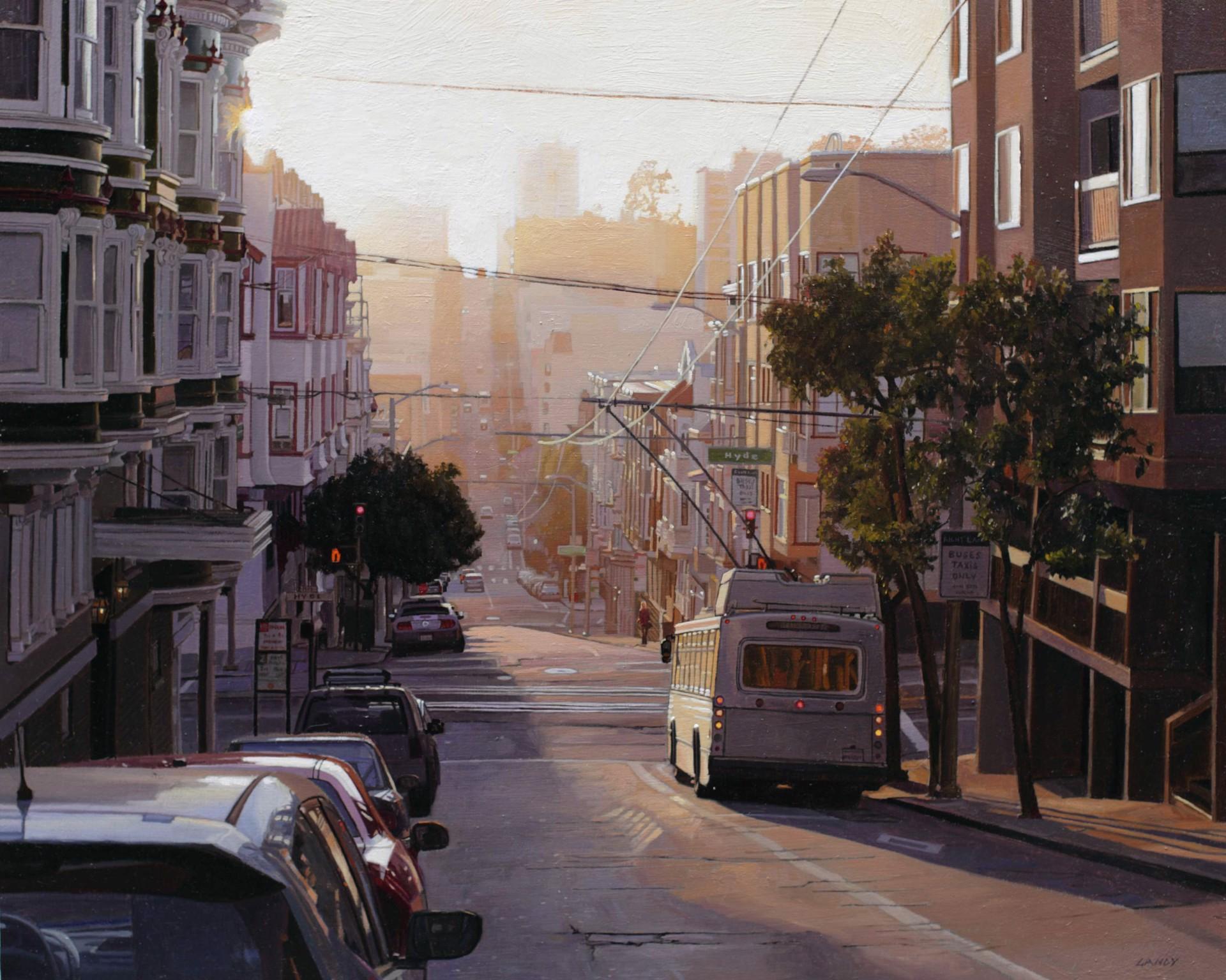 Summer Light on Sacramento Street by Greg Gandy
