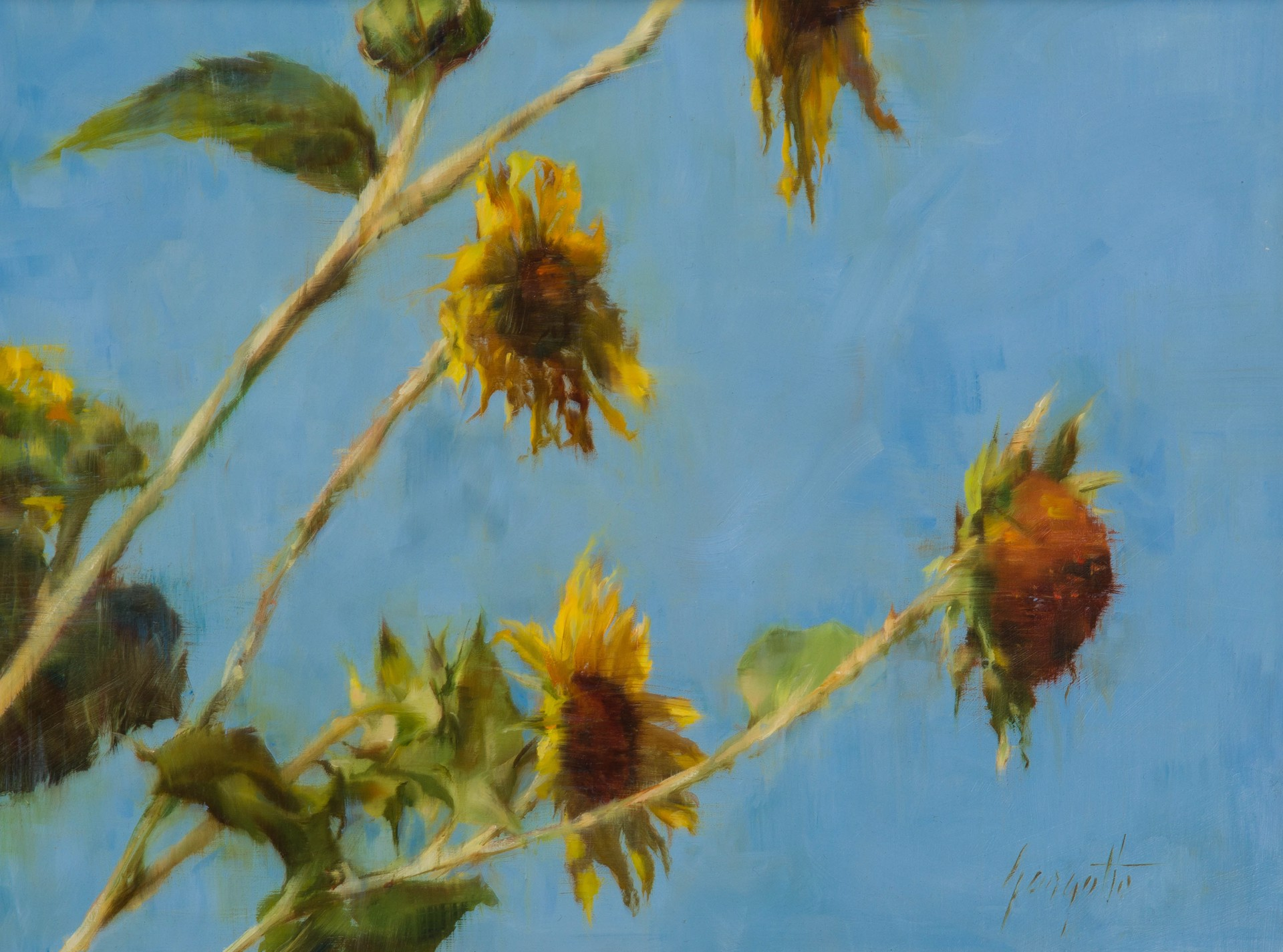 In the Breeze #2 by Ann Gargotto
