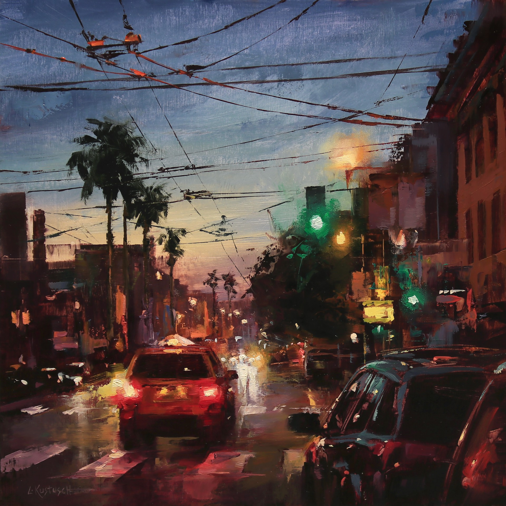 Warm Night in the Mission by Lindsey Kustusch