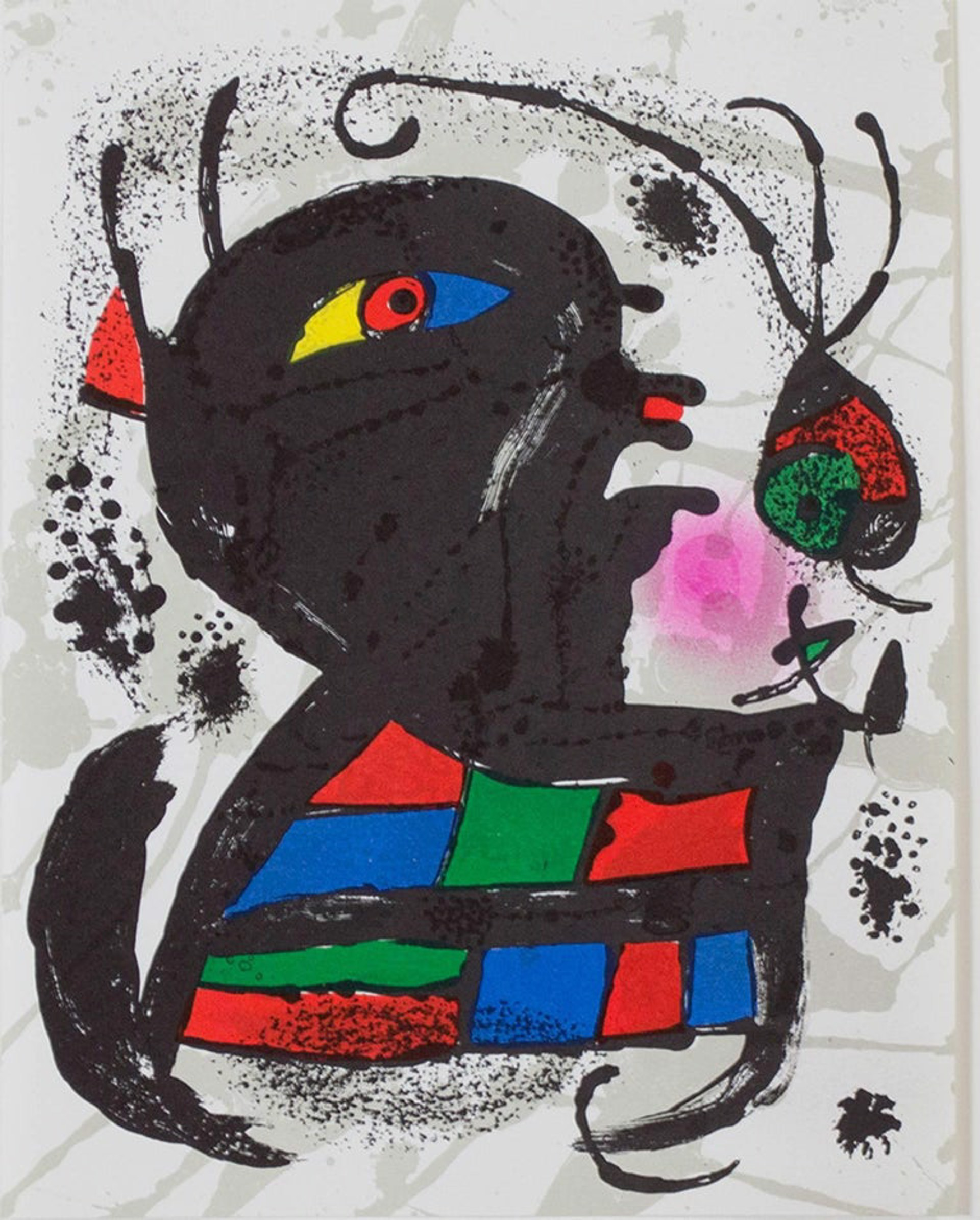 Lithograph V, from Miro Lithographs III by Joan Miro (1893 - 1983)