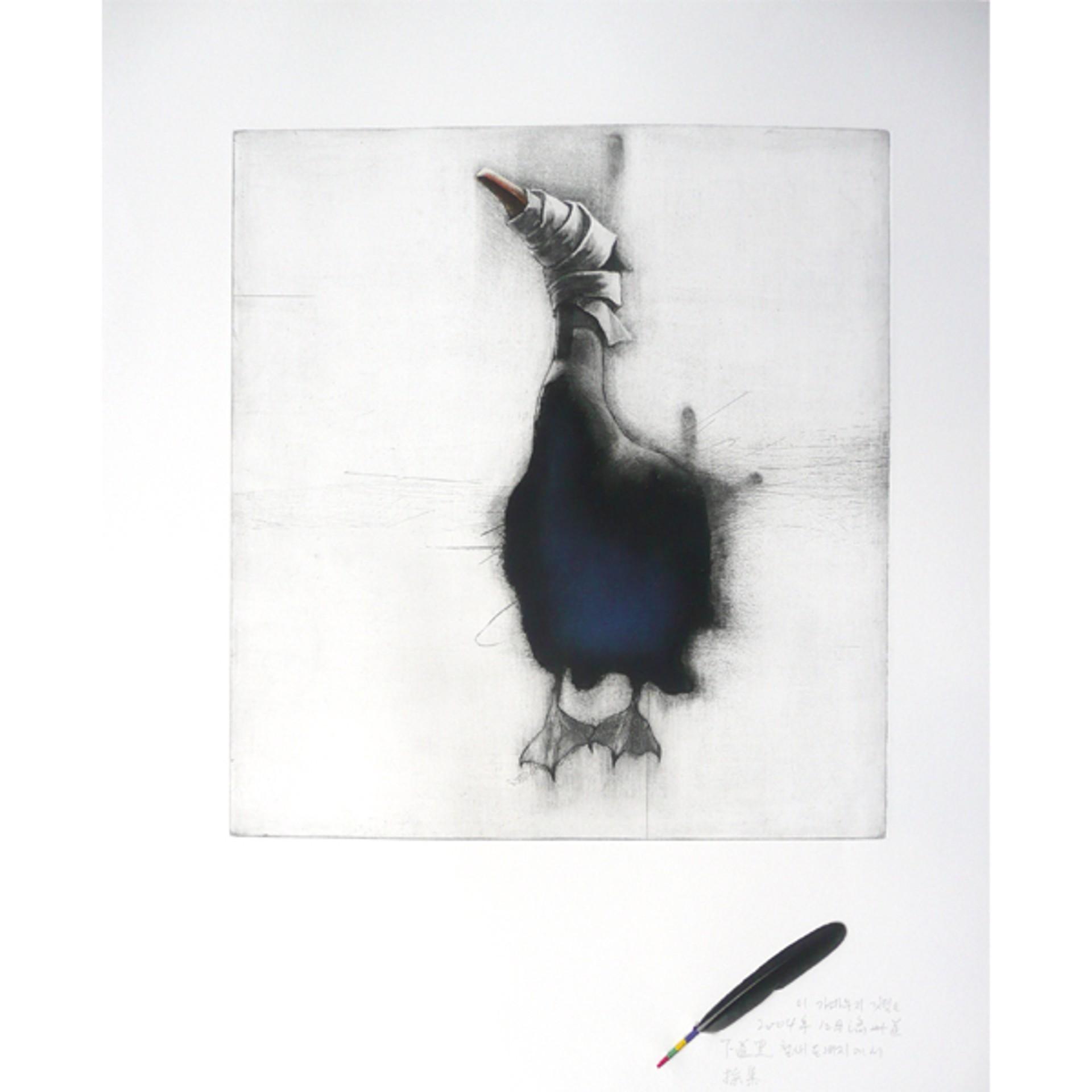 A Blind Bird: Comorant (3/10) by Gilchun Koh