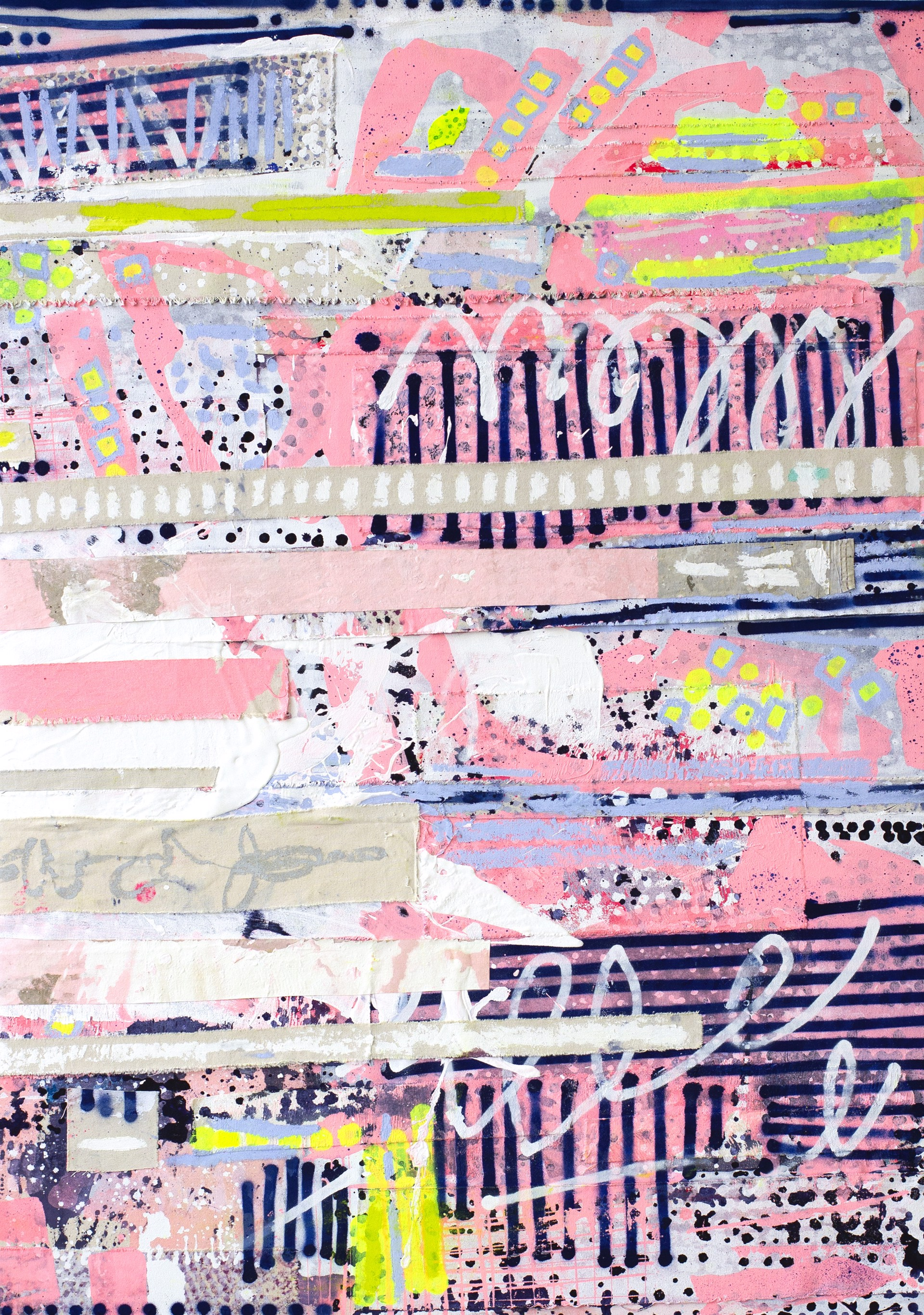 Candy Coated Super Cool I  (Can be Vertical or Horizontal Orientation) by Linda Colletta