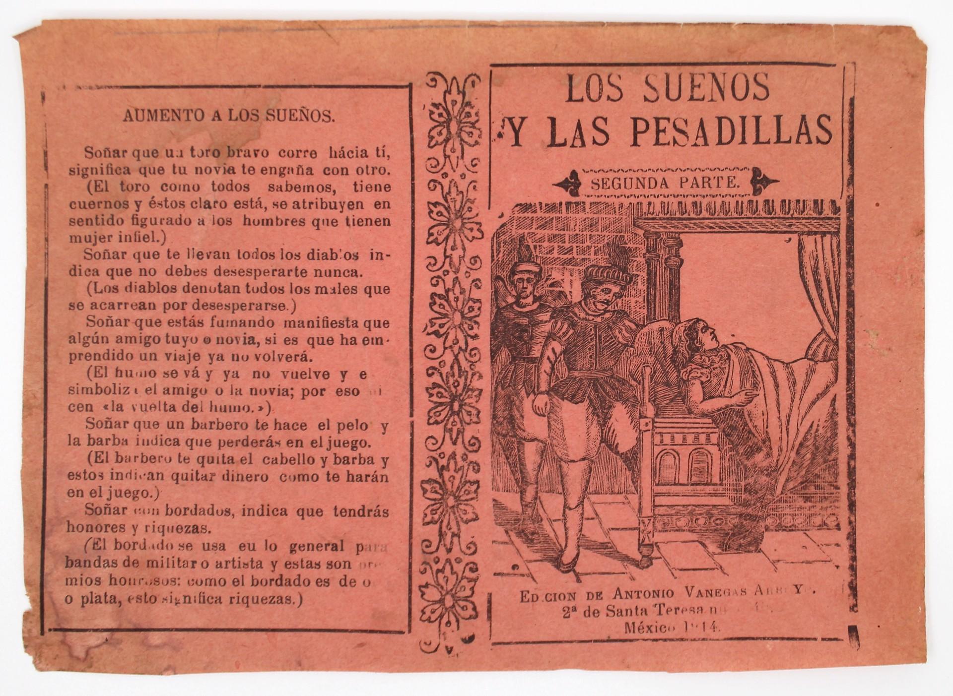 Los Suenos y las Pesadillas by José Guadalupe Posada (1852 - 1913)