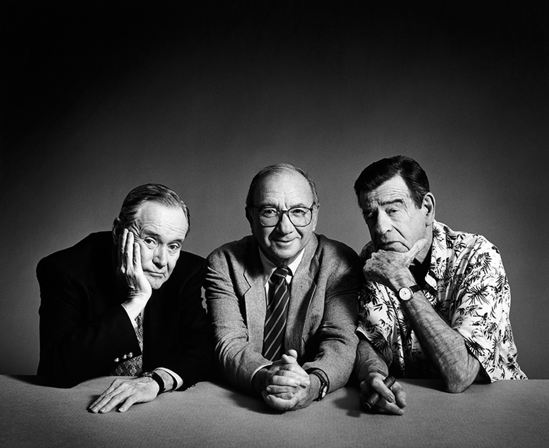 97079 Odd Couple Matthau Lemmon Simon BW by Timothy White