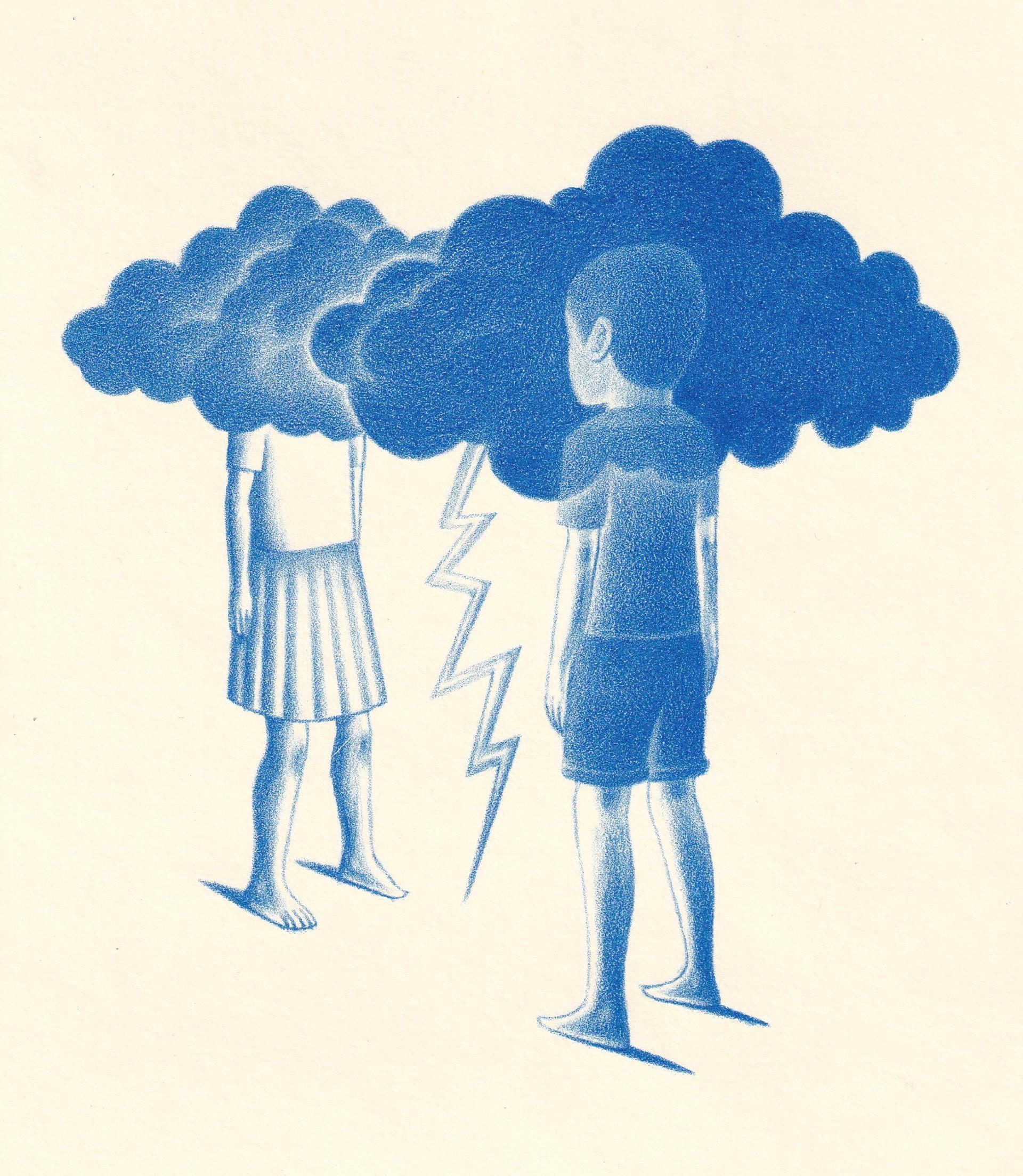 Untitled (Niños Nubes) by Alberto Cruz