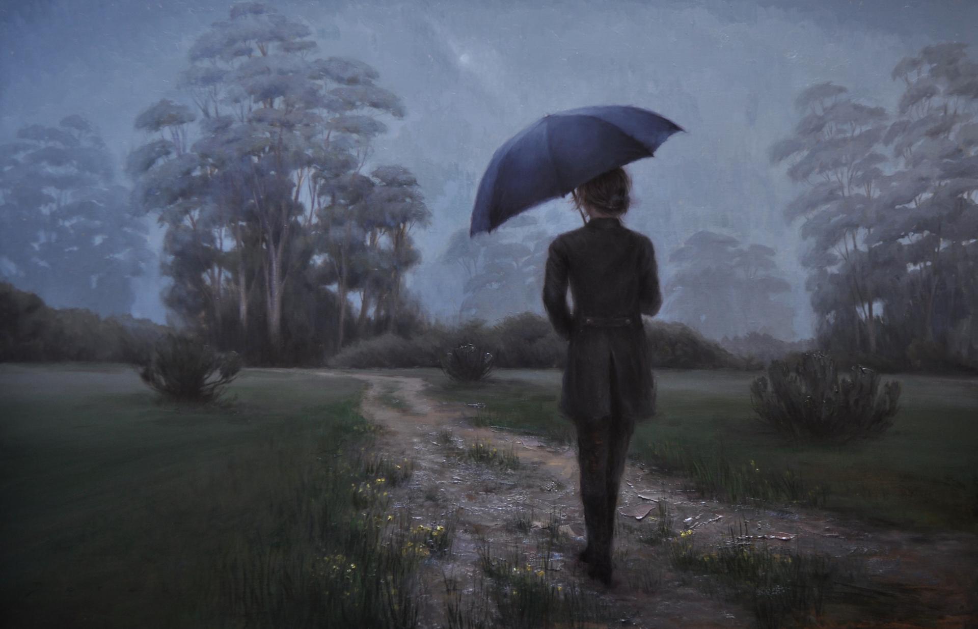 Evening Mist by Derek Harrison