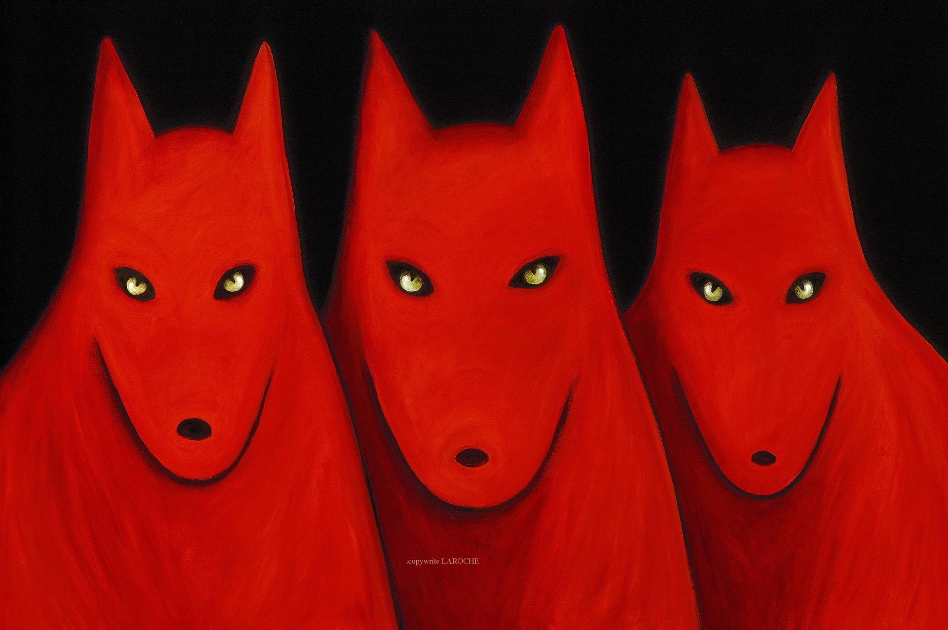 TRES LOBOS by Carole LaRoche