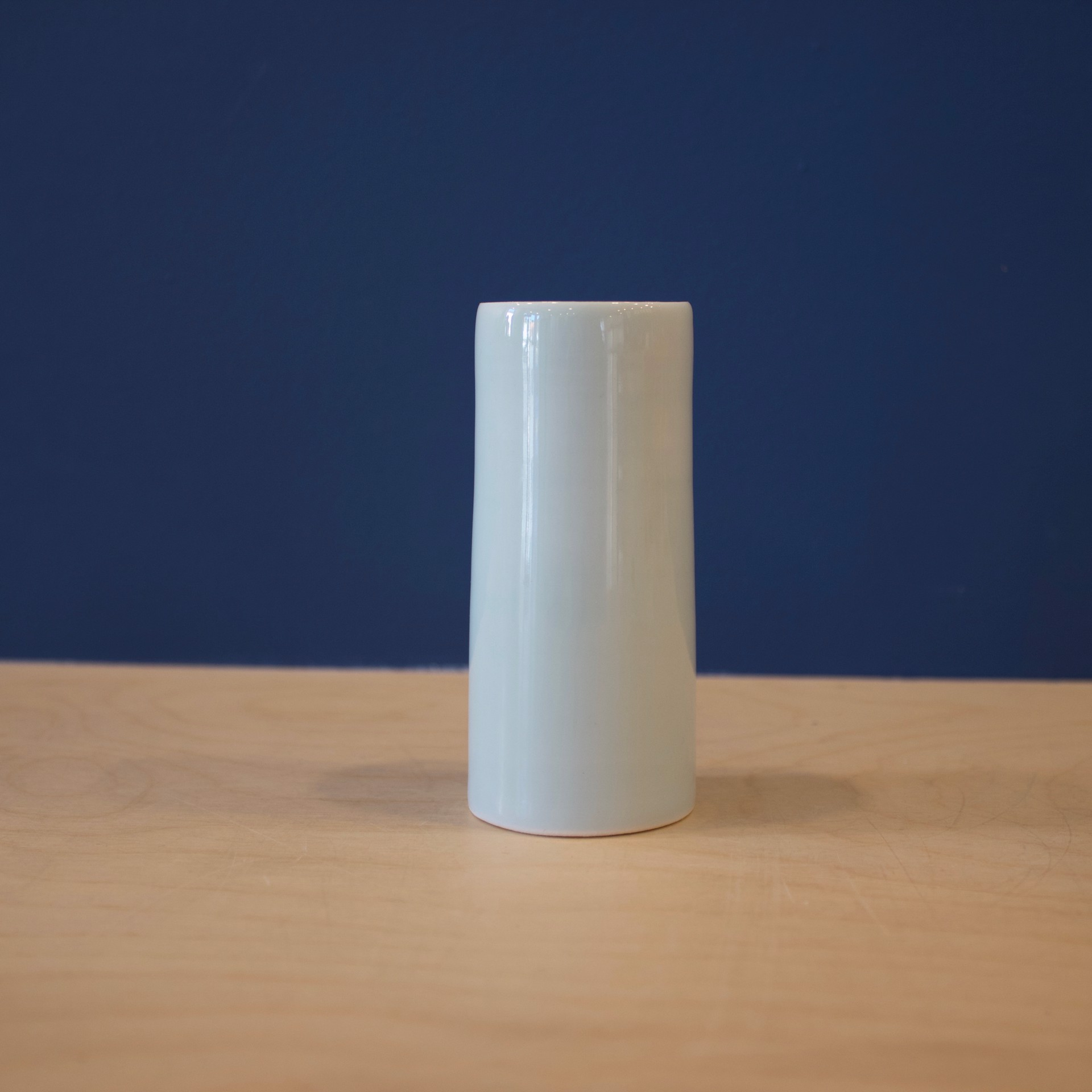 Small Celadon Cylinder  by Patricia Thom