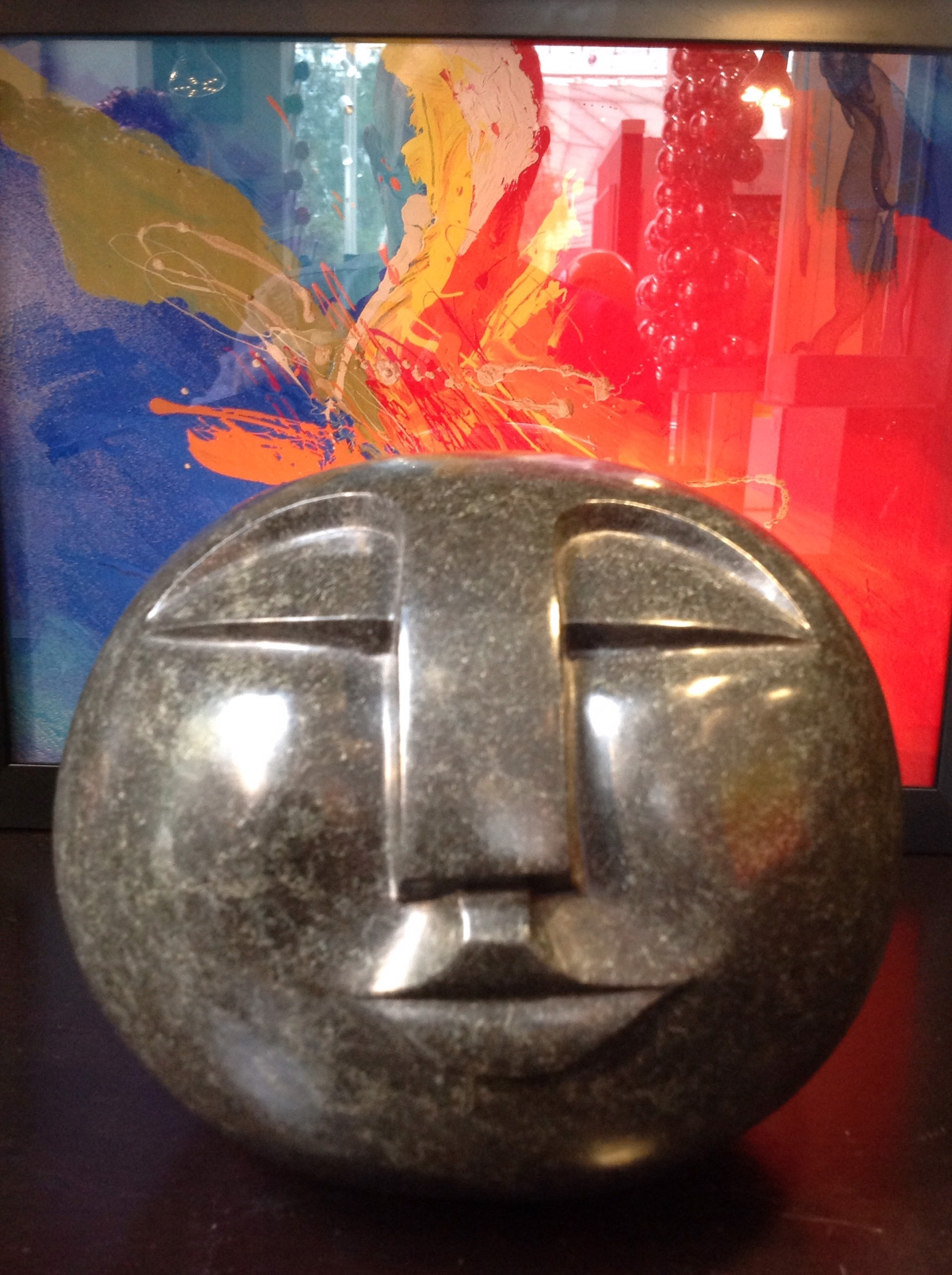 Moon Head by Stone Of Shona Stephen Murenza