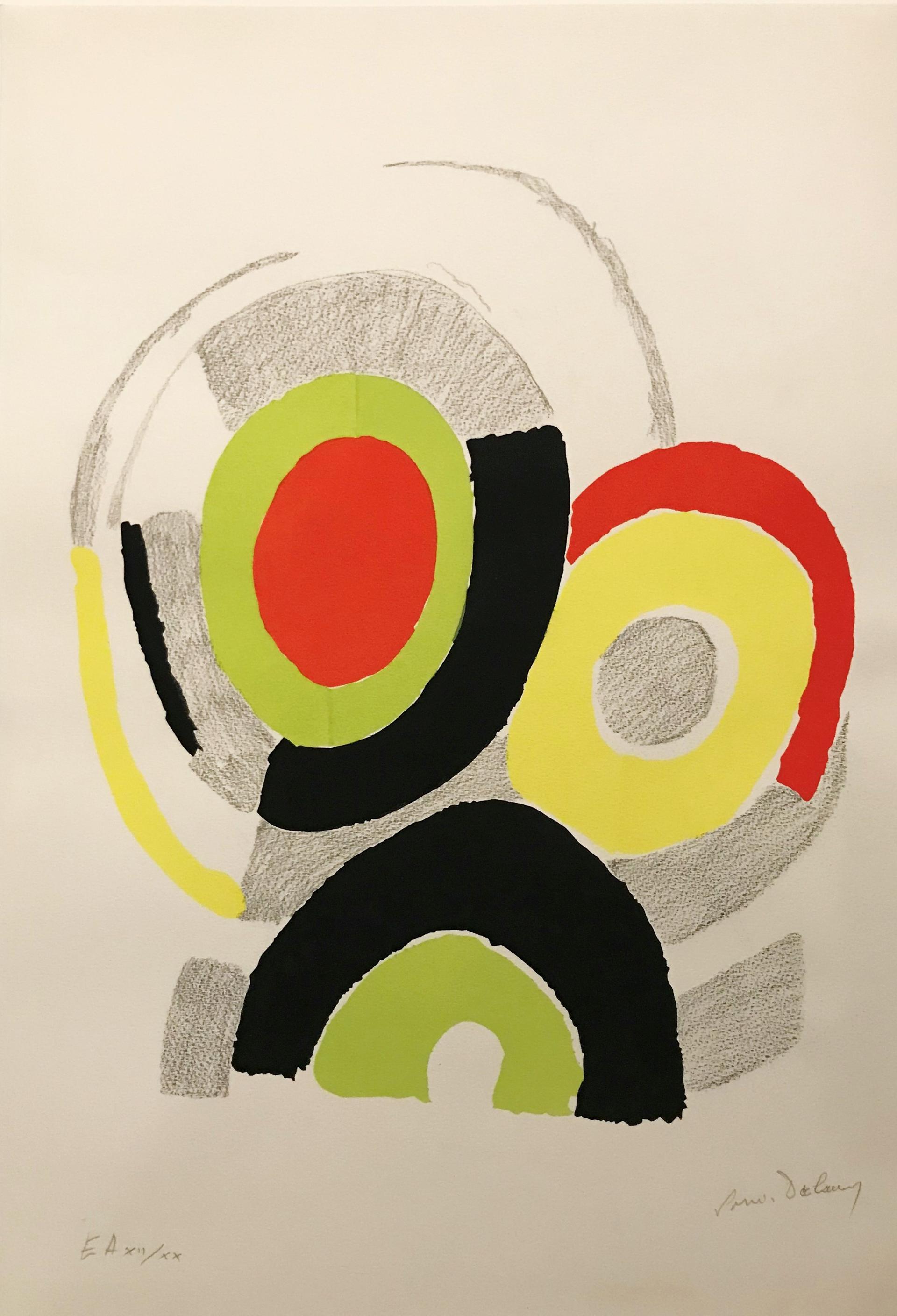 Trio from Les Illuminations de Rimbaud by Sonia Delaunay