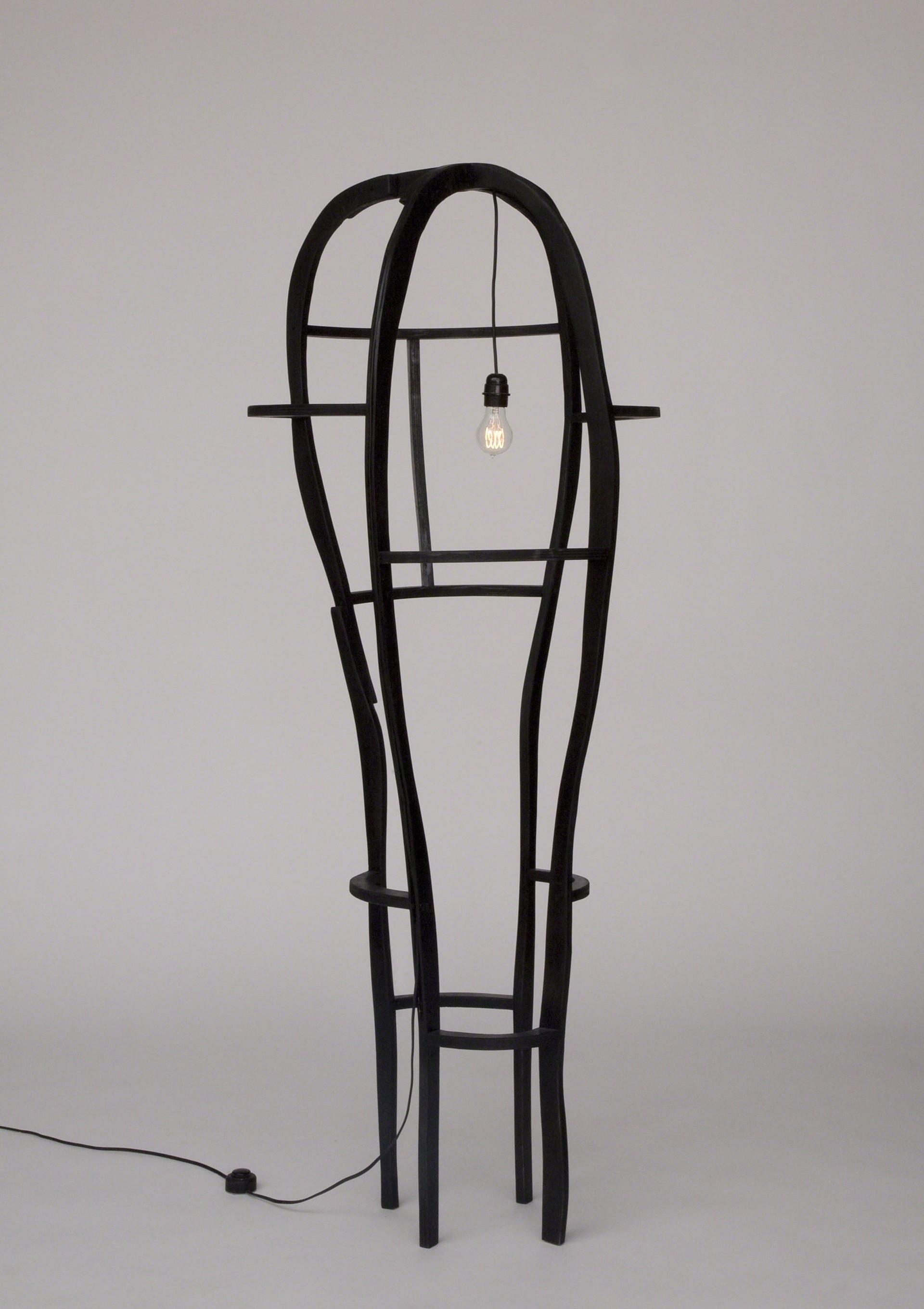 """""""Meanders"""" Floor lamp  by Jacques Jarrige"""