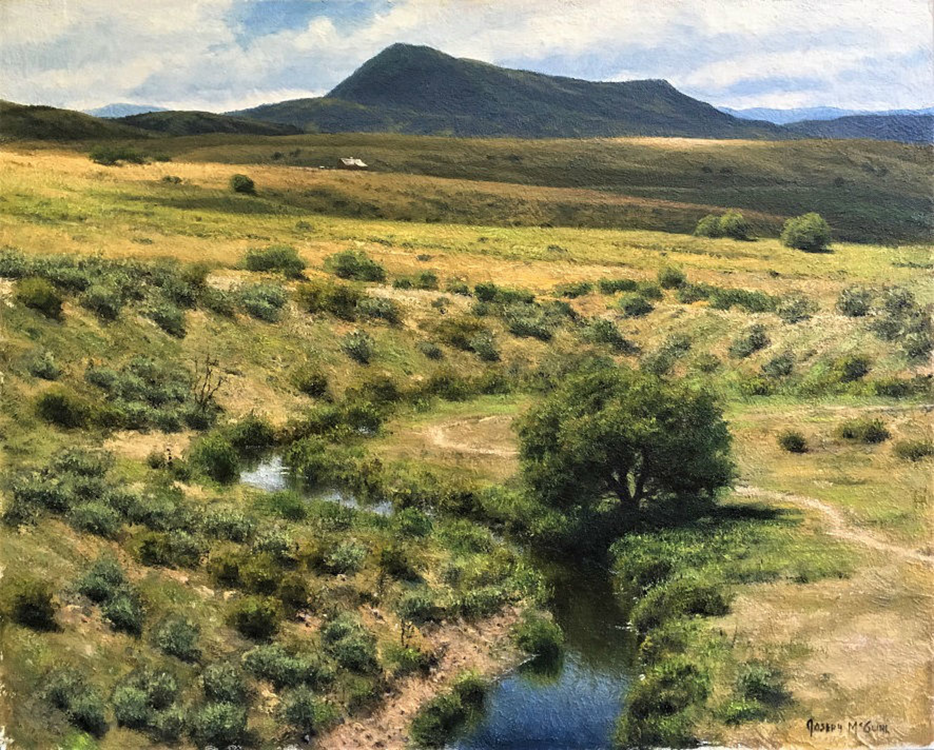 Rhythym of the Land, Elk Mountain by Joseph McGurl