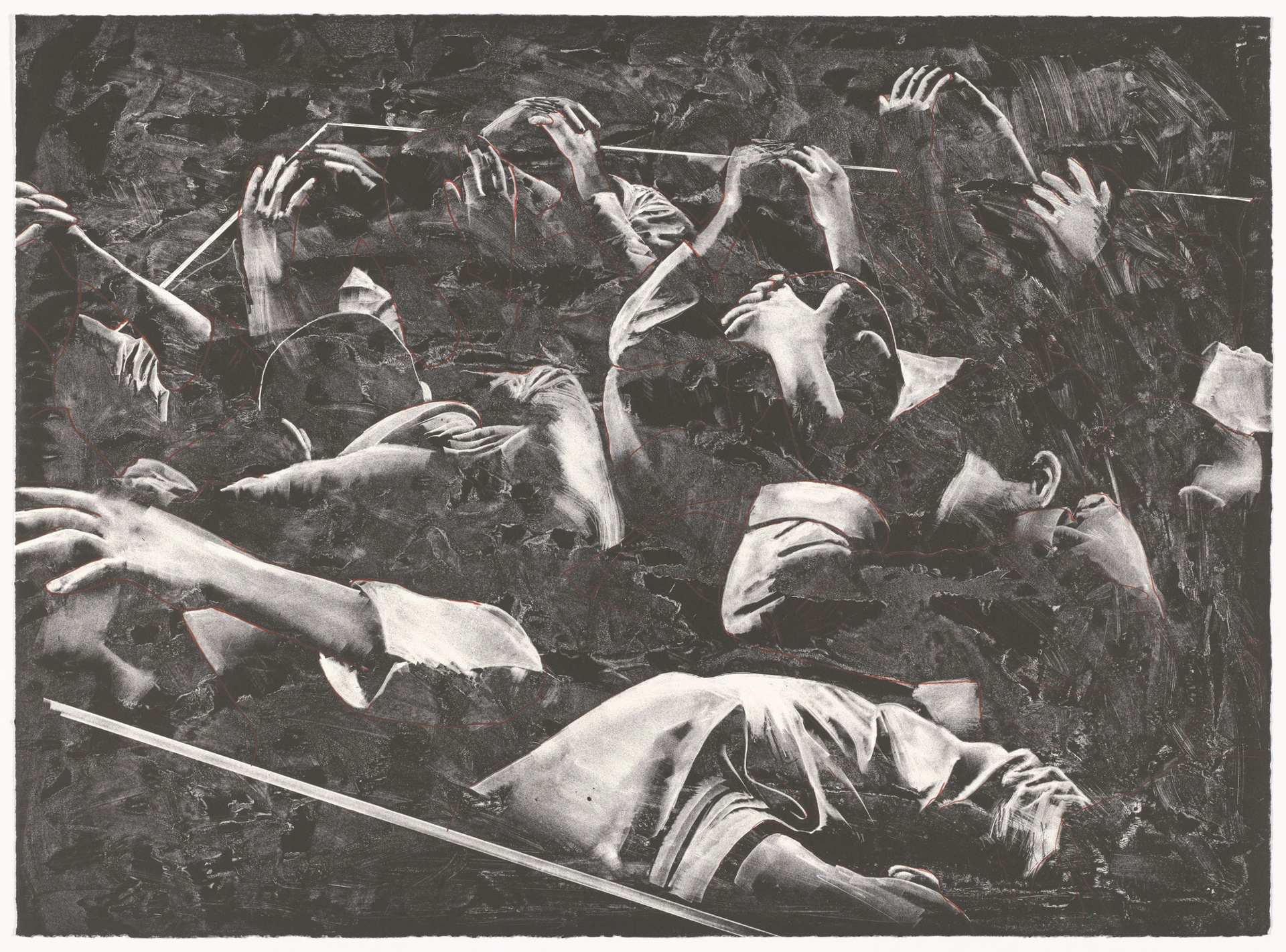 The Prisoners by Rafael Canogar