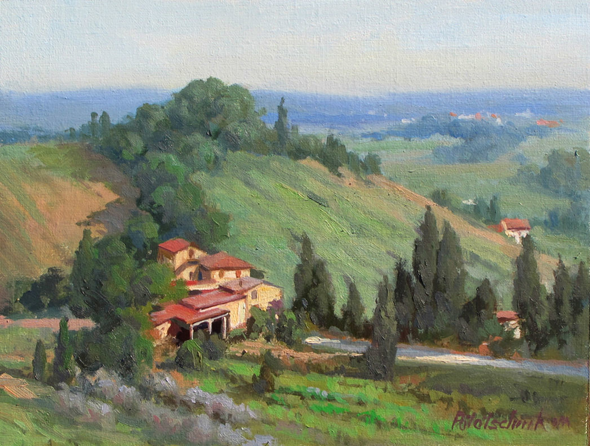 Rural Italy by John Pototschnik
