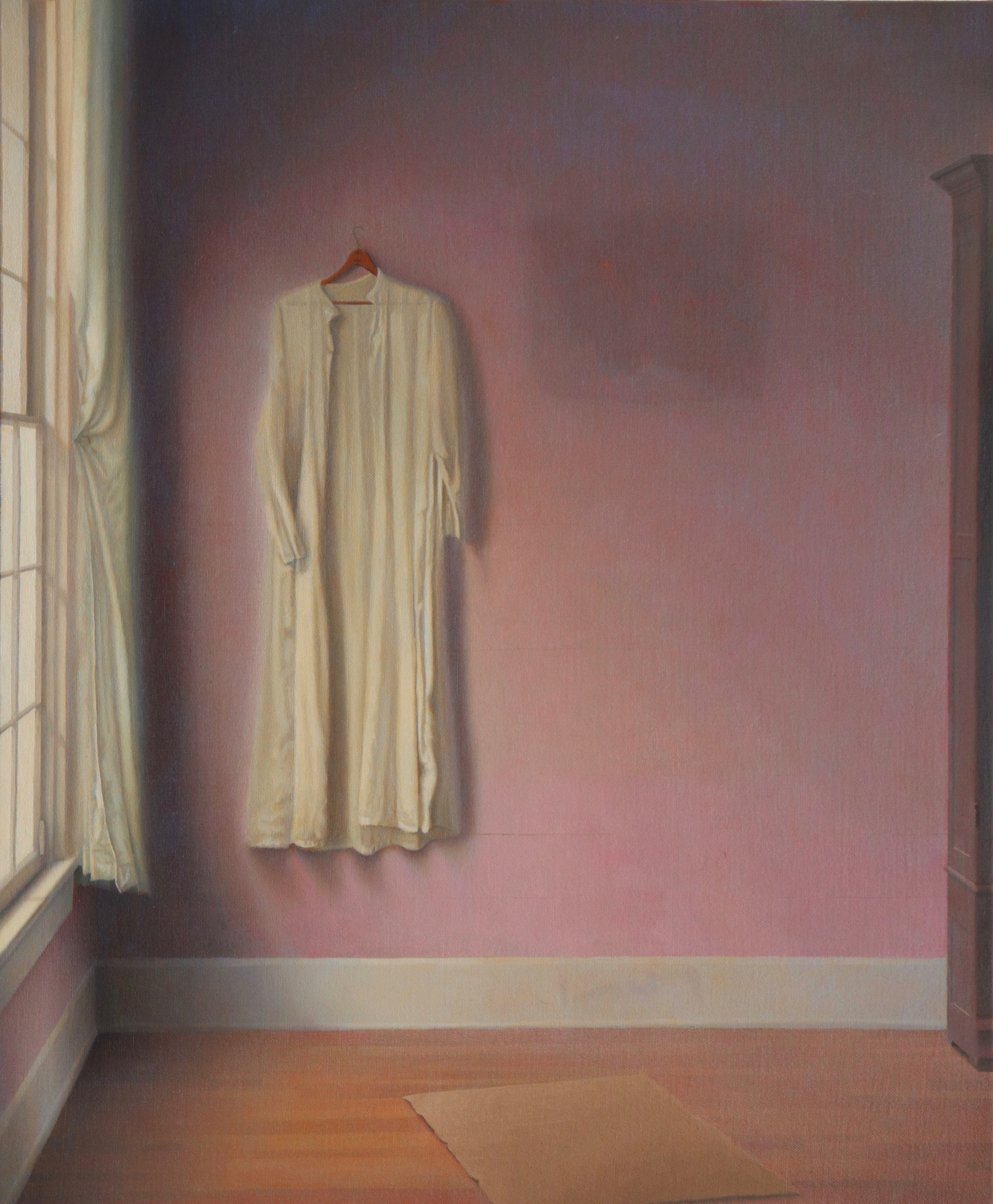 Interior with White Gown by Charles Carraway